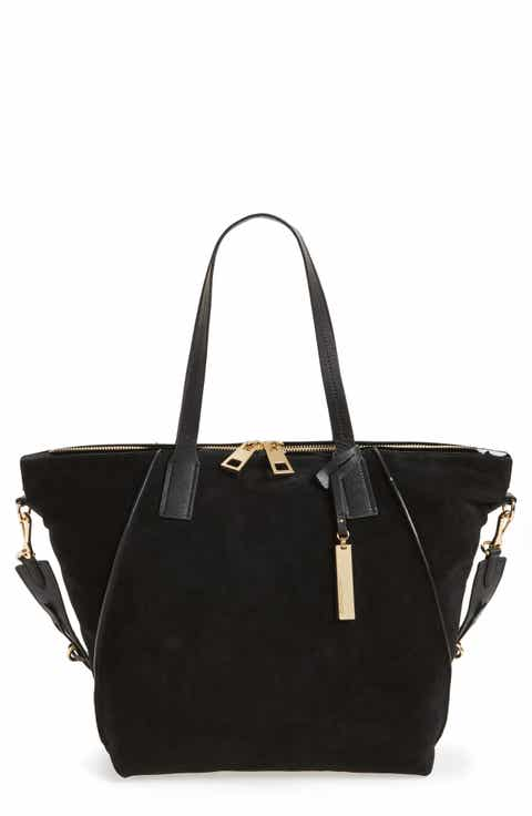Black Suede Handbags & Purses | Nordstrom