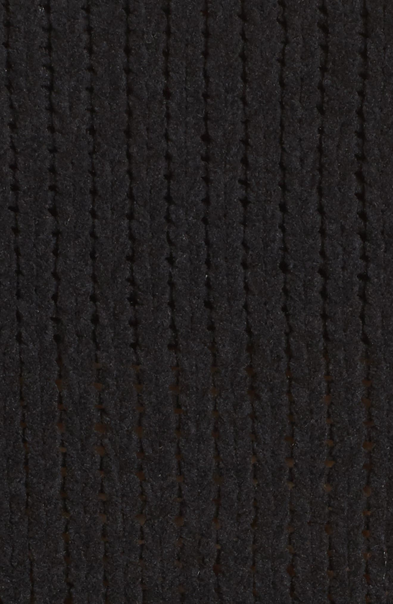 Alternate Image 6  - MOON RIVER Net Detail Sweater