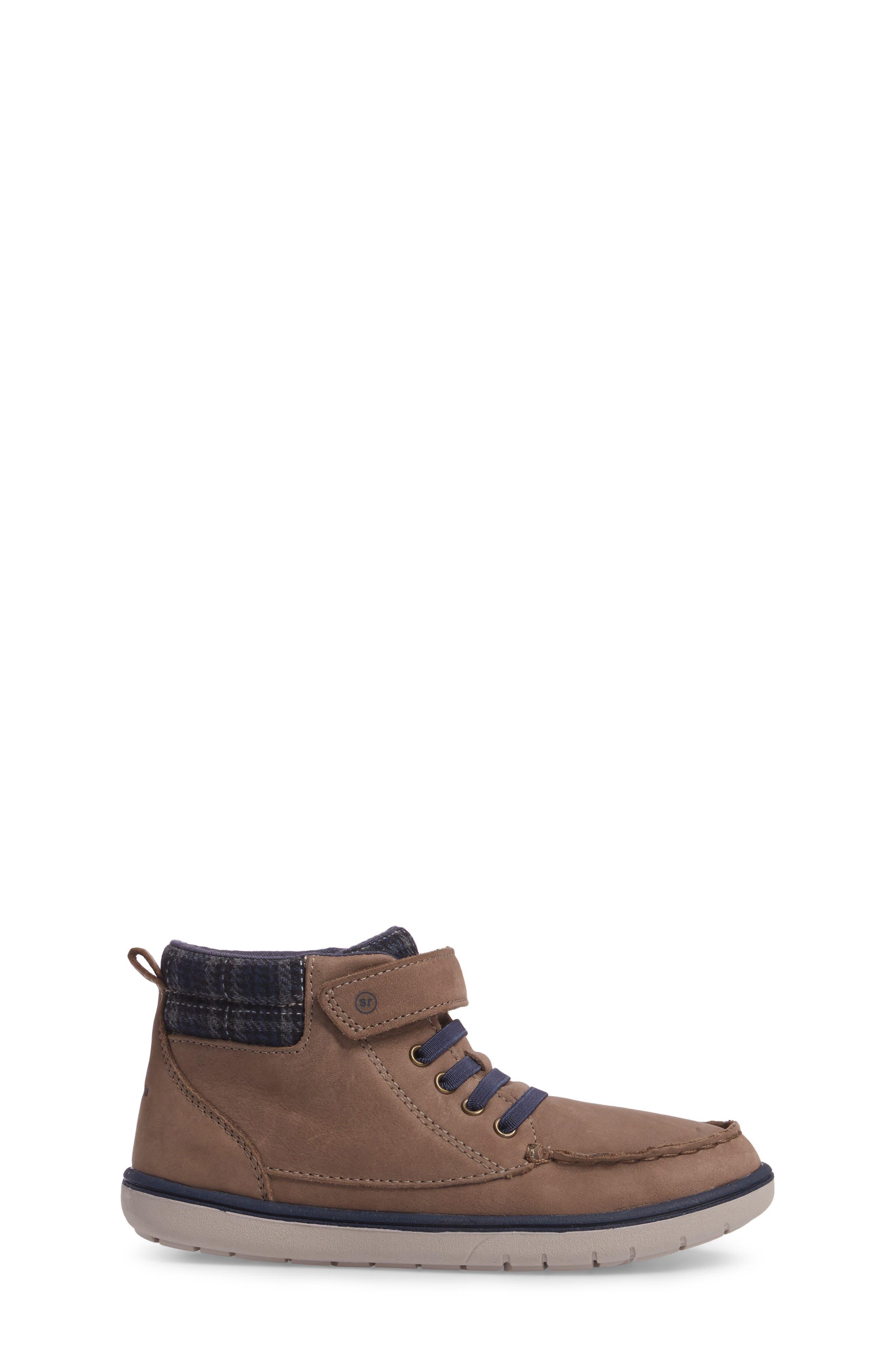 SRtech<sup>™</sup> Langston Bootie,                             Alternate thumbnail 3, color,                             Greige Leather