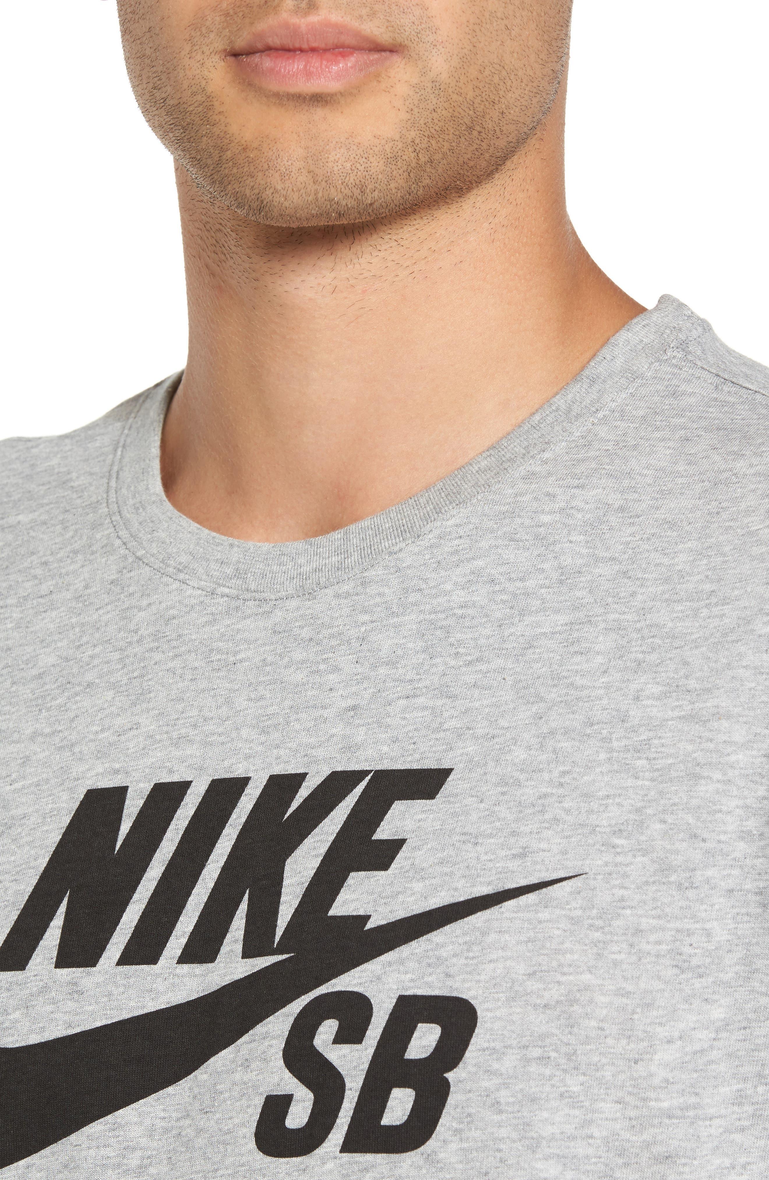 Alternate Image 4  - Nike 'SB Logo' T-Shirt
