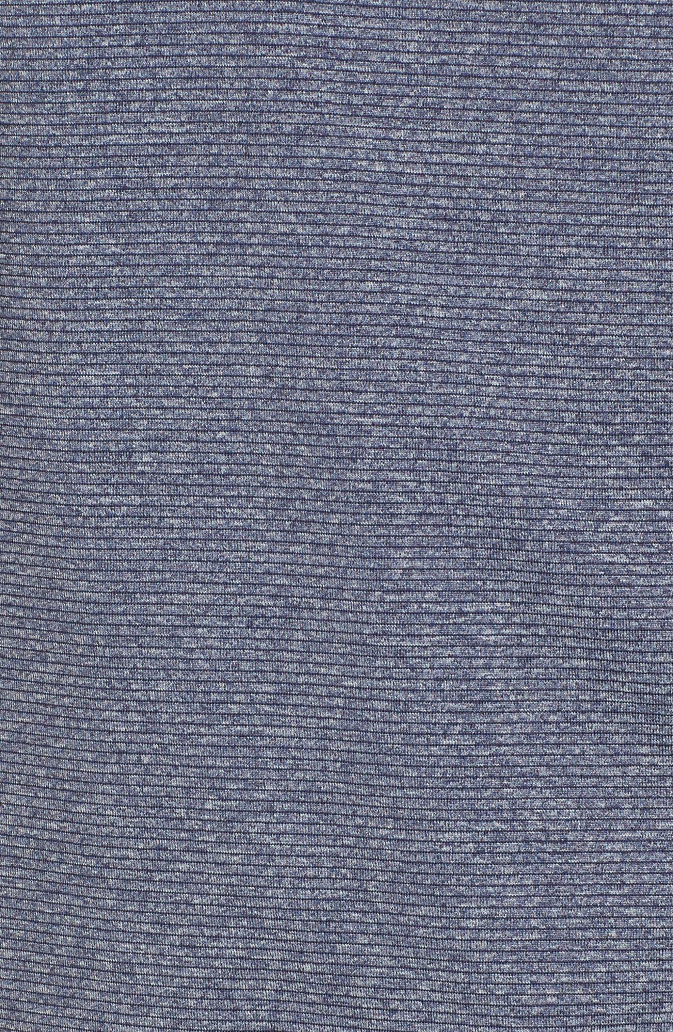 Shoreline - Seattle Seahawks Half Zip Pullover,                             Alternate thumbnail 5, color,                             Liberty Navy Heather