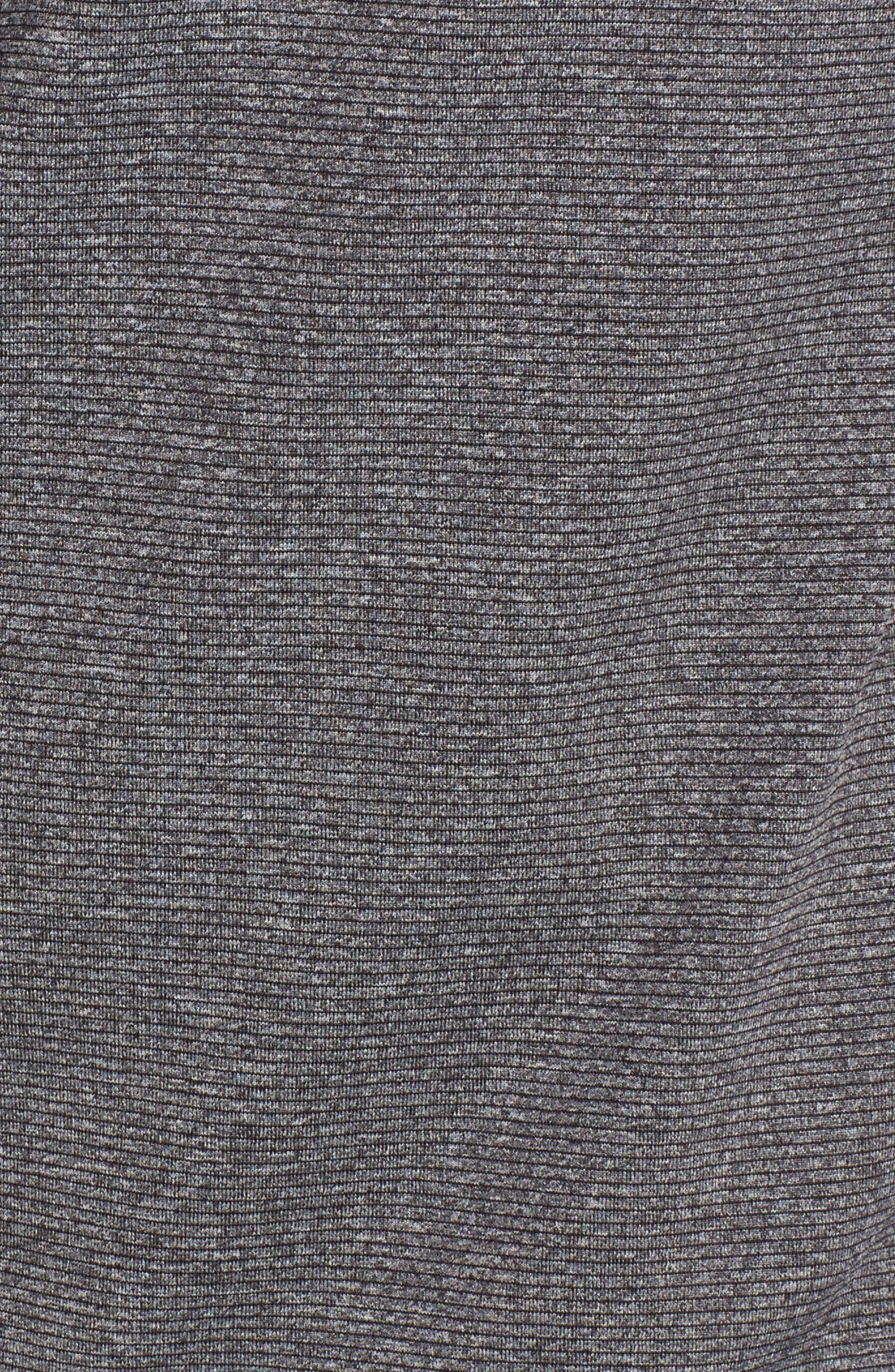 Shoreline - Carolina Panthers Half Zip Pullover,                             Alternate thumbnail 5, color,                             Charcoal Heather