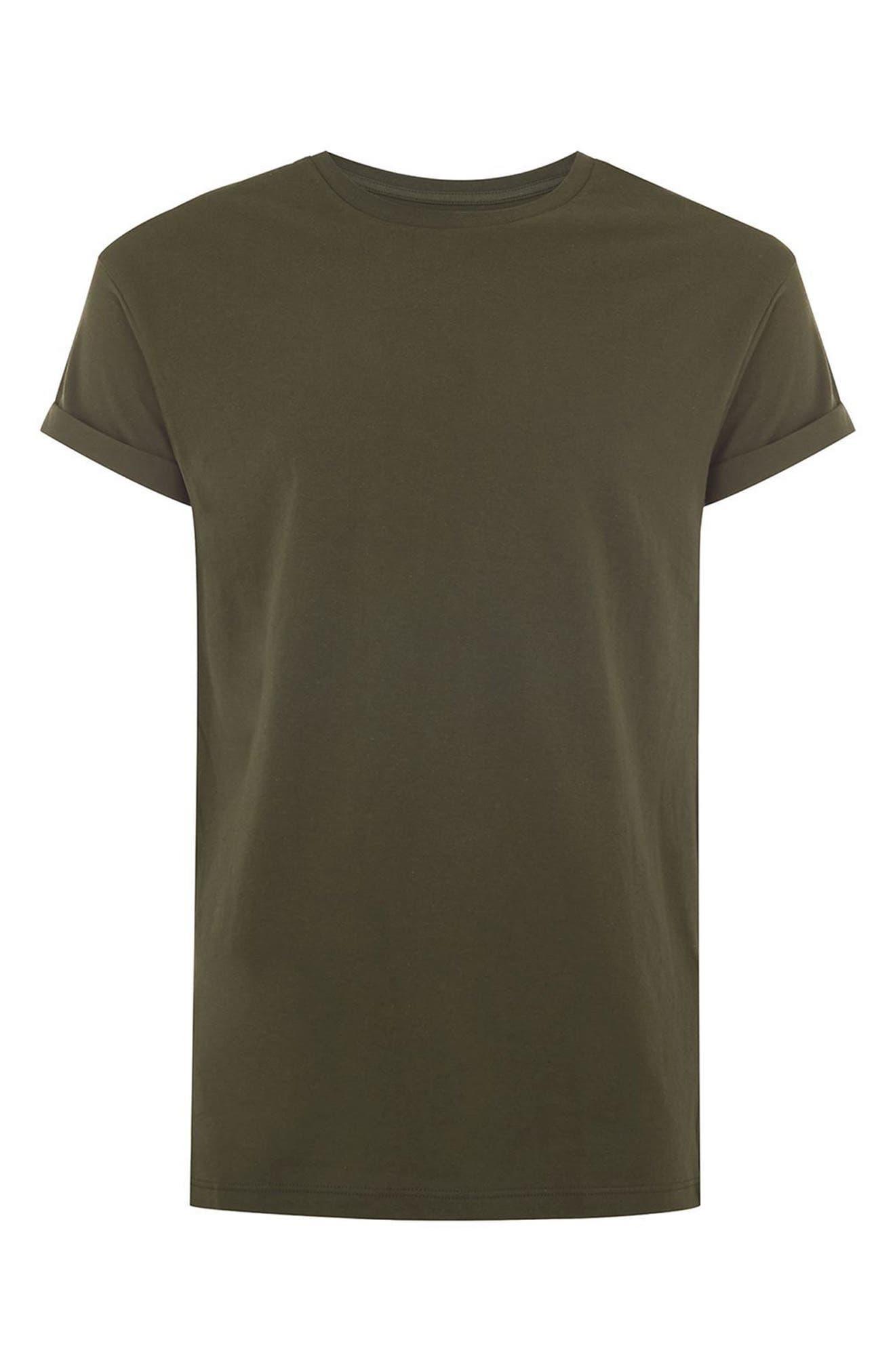 Alternate Image 4  - Topman Muscle Fit Roller T-Shirt