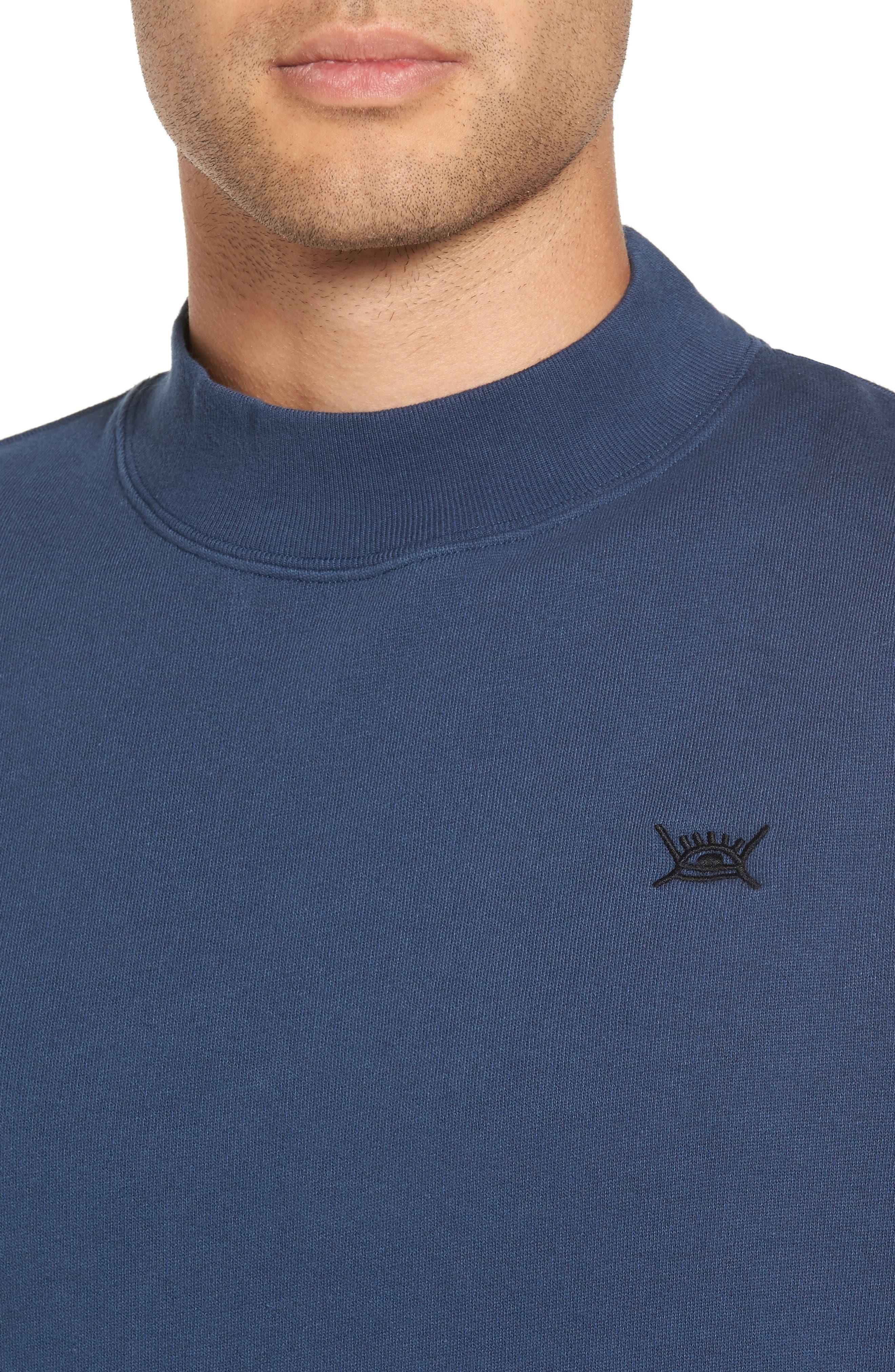 Alternate Image 4  - WeSC Steve Fleece Sweatshirt
