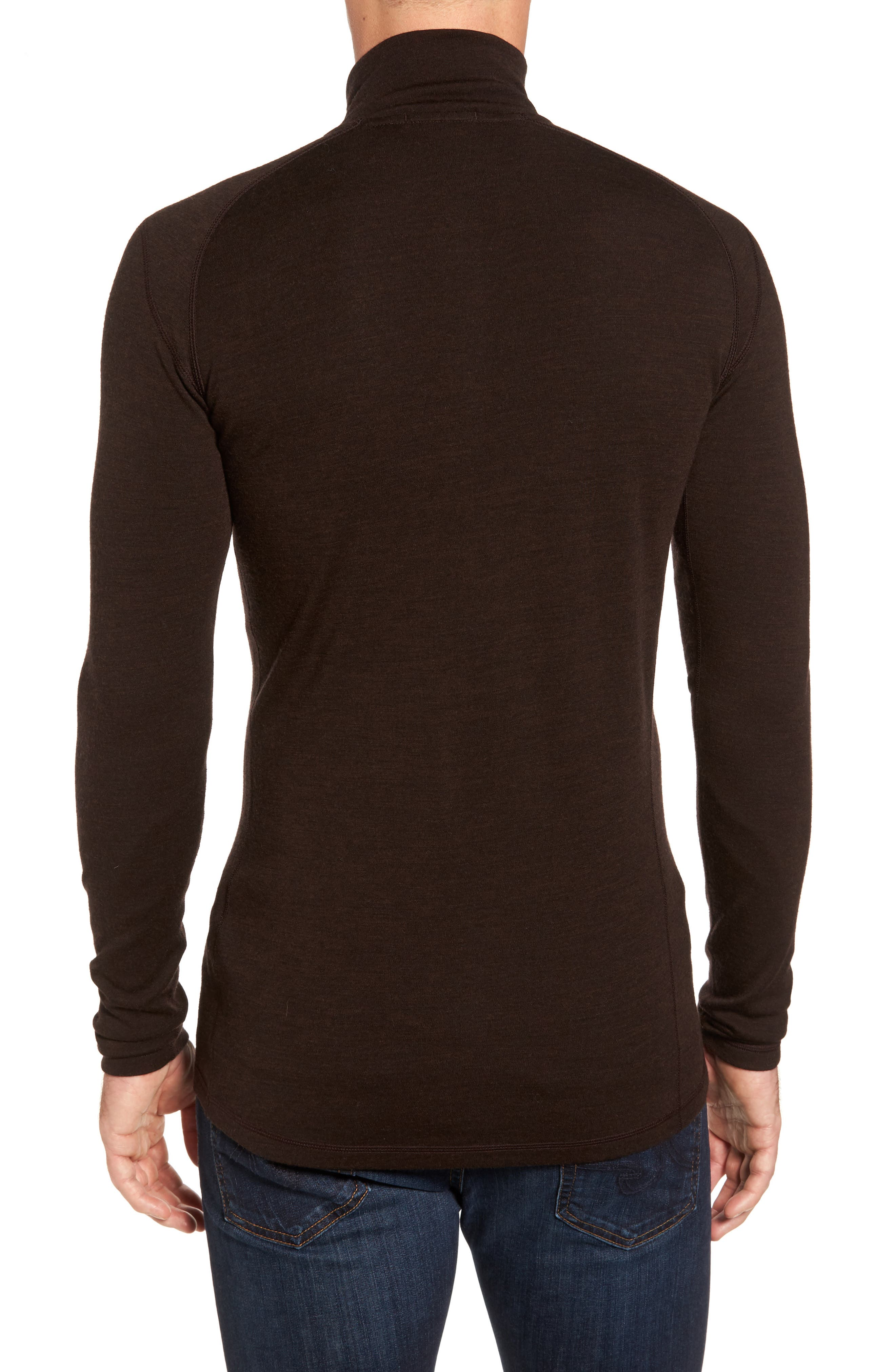 Alternate Image 2  - Smartwool Merino 250 Base Layer Quarter Zip Pullover