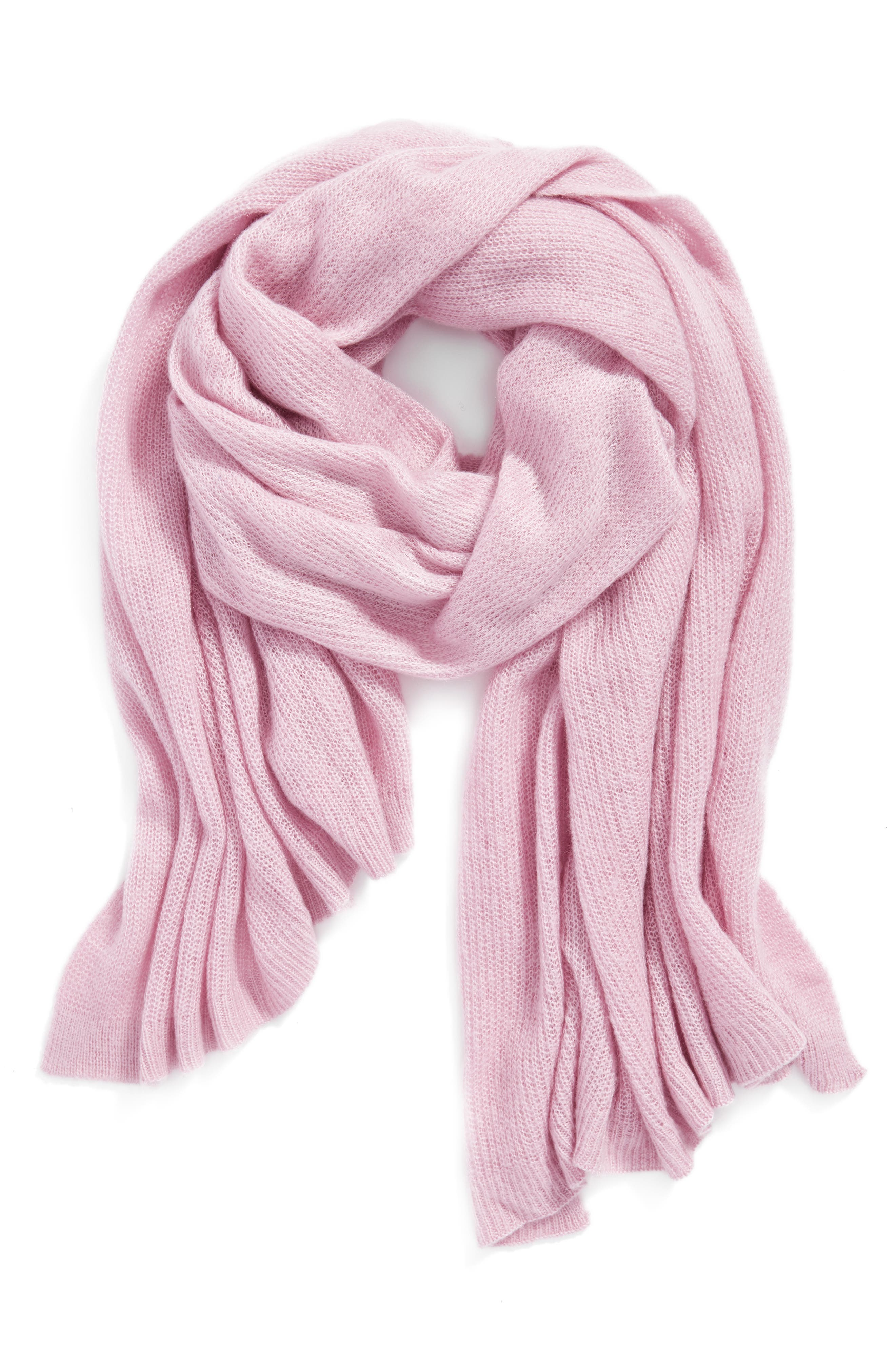 Alternate Image 1 Selected - Free People Kennedy Waffle Knit Scarf