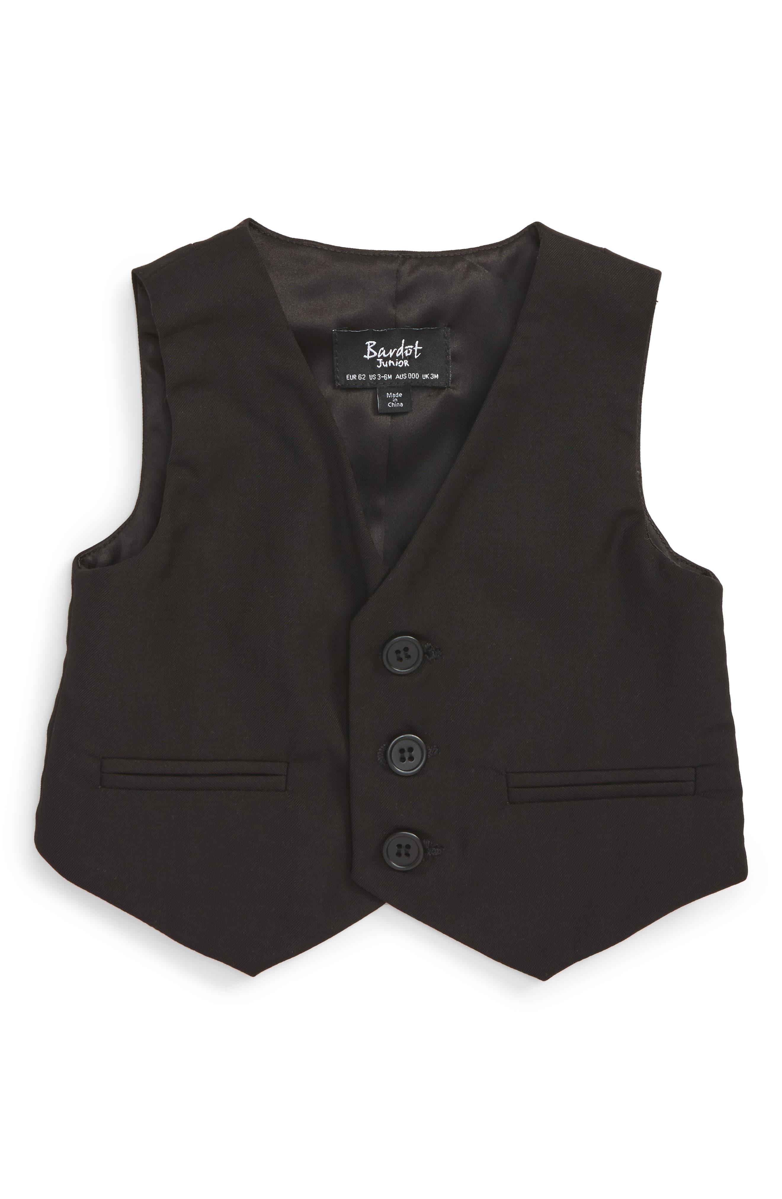 Main Image - Bardot Junior Harry Vest (Baby Boys & Toddler Boys)