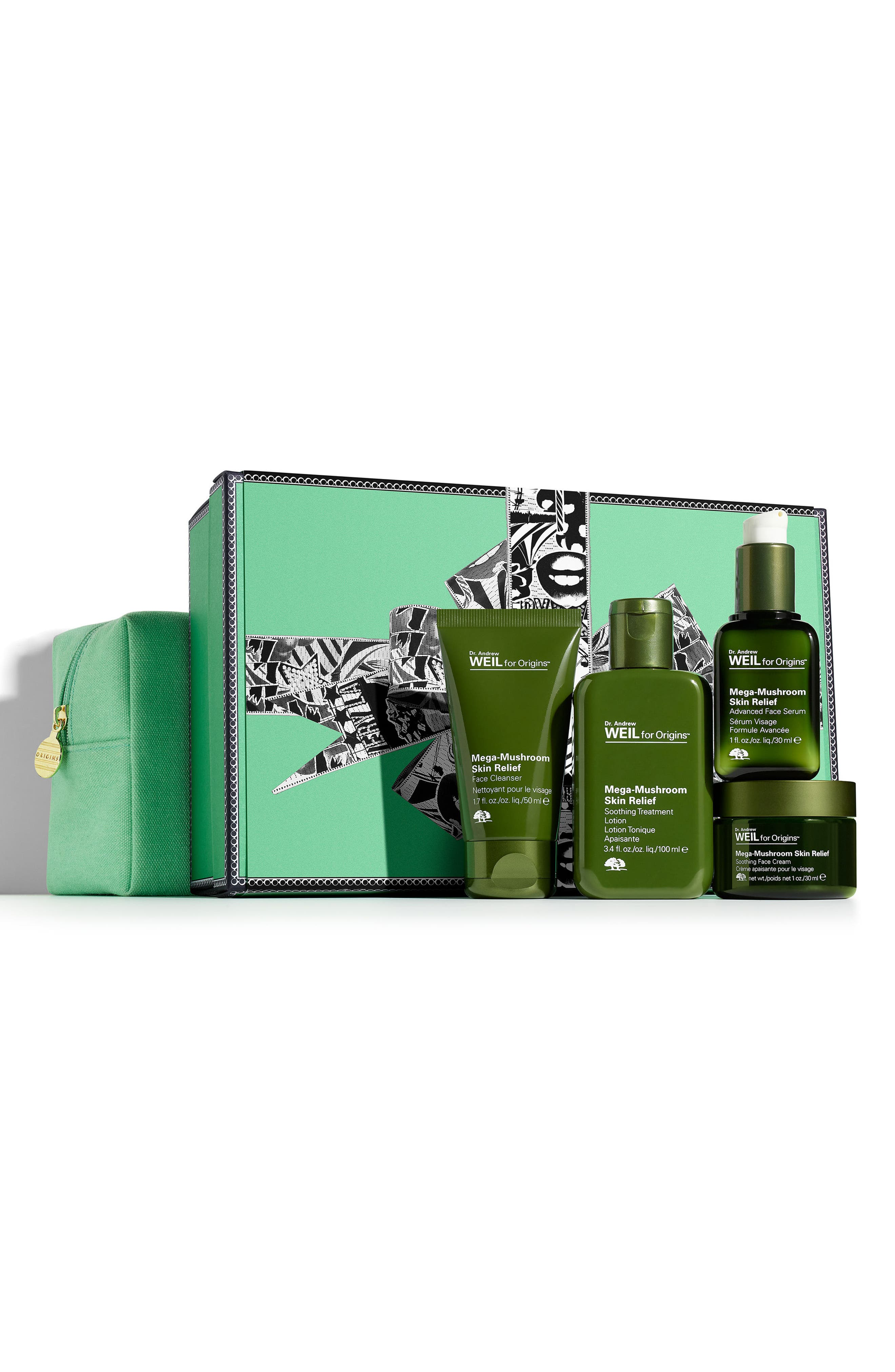 Dr. Andrew Weil for Origins<sup>™</sup> Mega-Relief Collection,                         Main,                         color, No Color