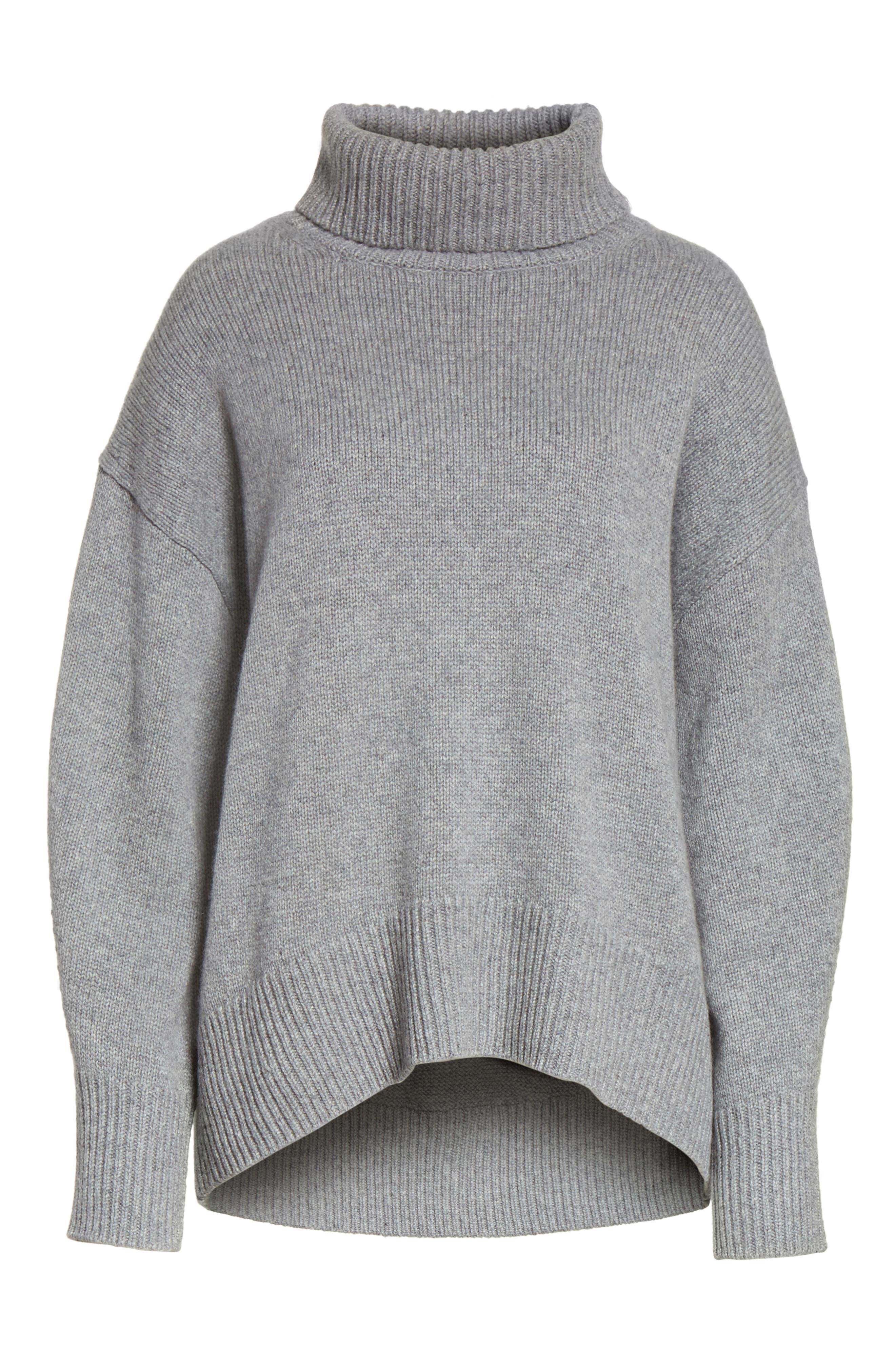 Alternate Image 6  - JOSEPH Turtleneck Cashmere Sweater