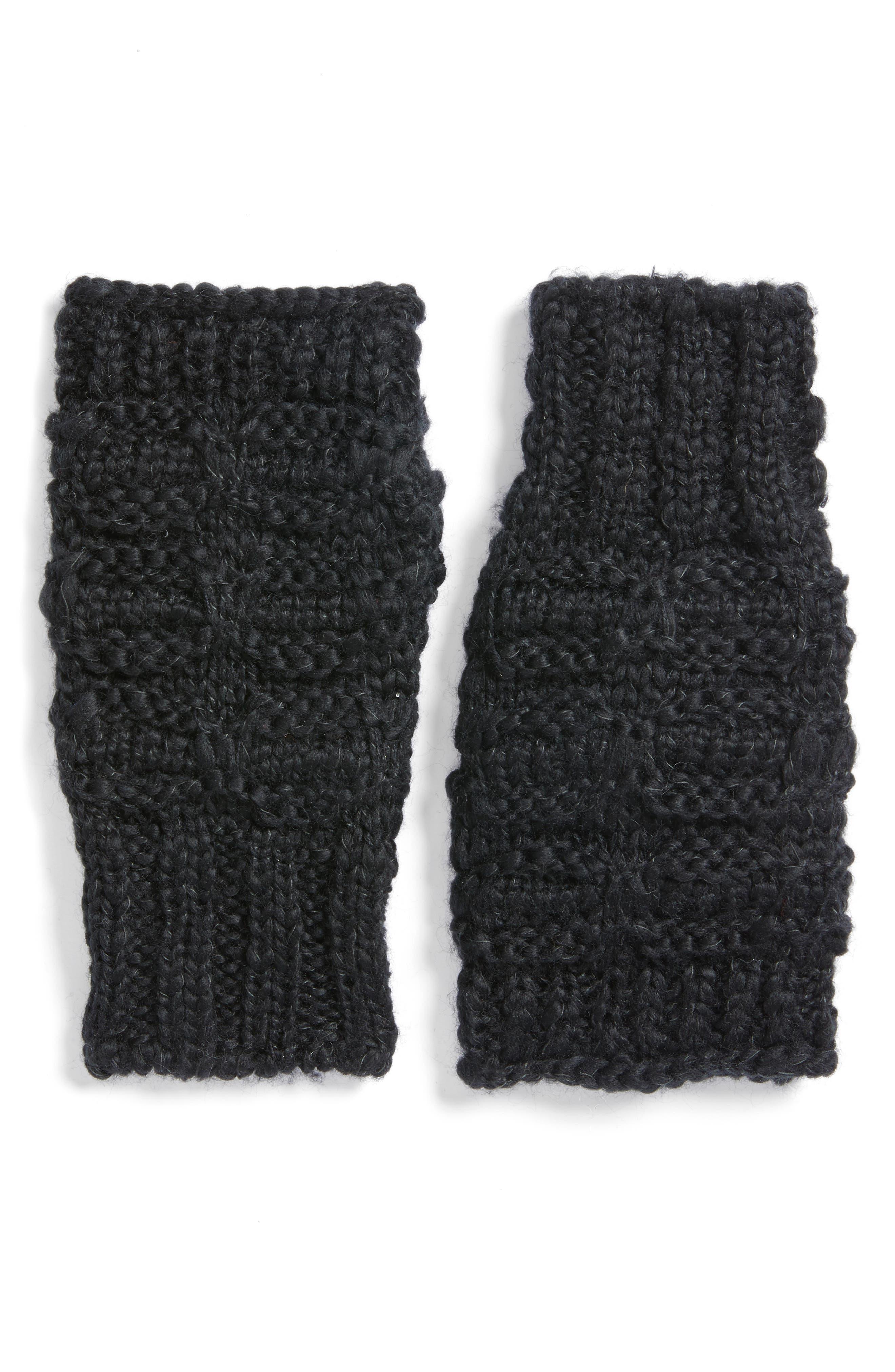 Alternate Image 1 Selected - Treasure & Bond Chunky Knit Arm Warmers