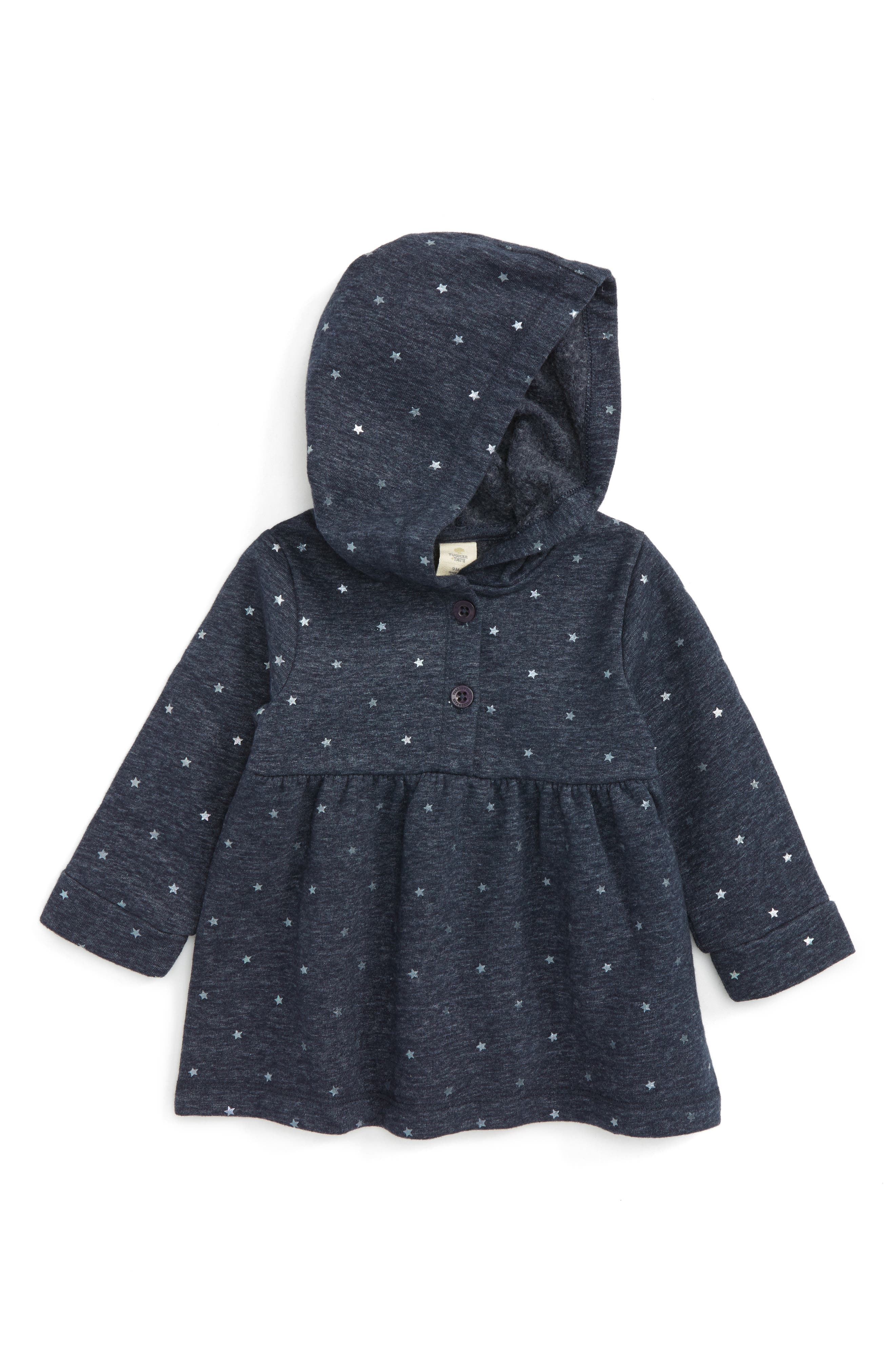 Foil Star Hoodie,                         Main,                         color, Navy Peacoat Star