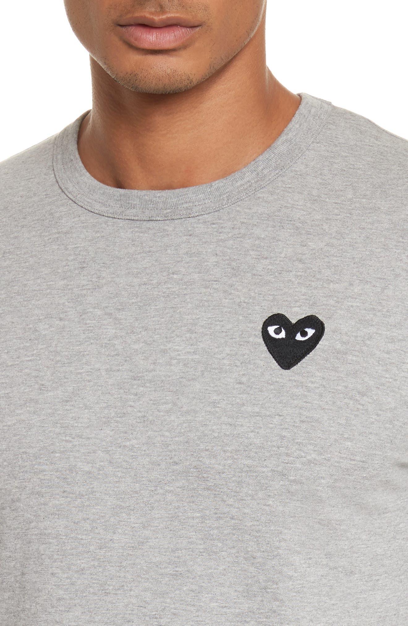 PLAY Long Sleeve T-Shirt,                             Alternate thumbnail 4, color,                             Grey