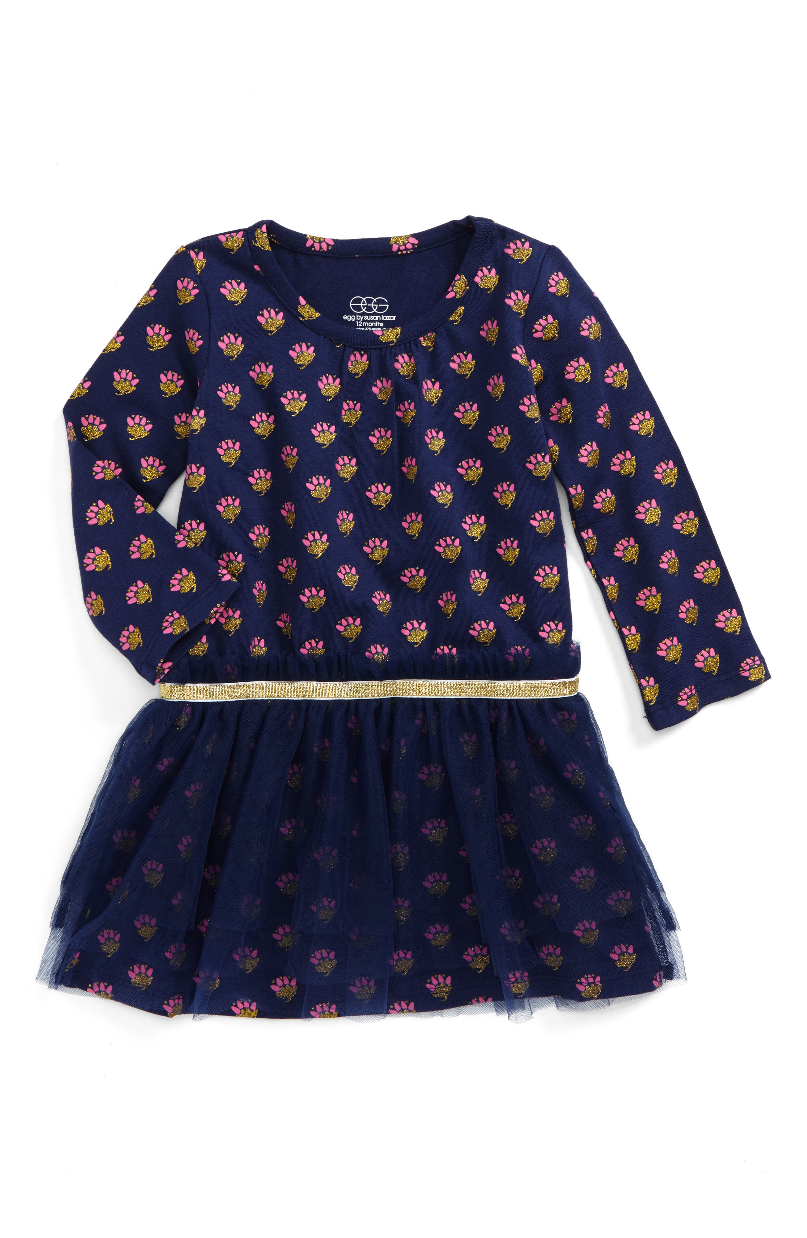 Amy Dress,                             Main thumbnail 1, color,                             Navy