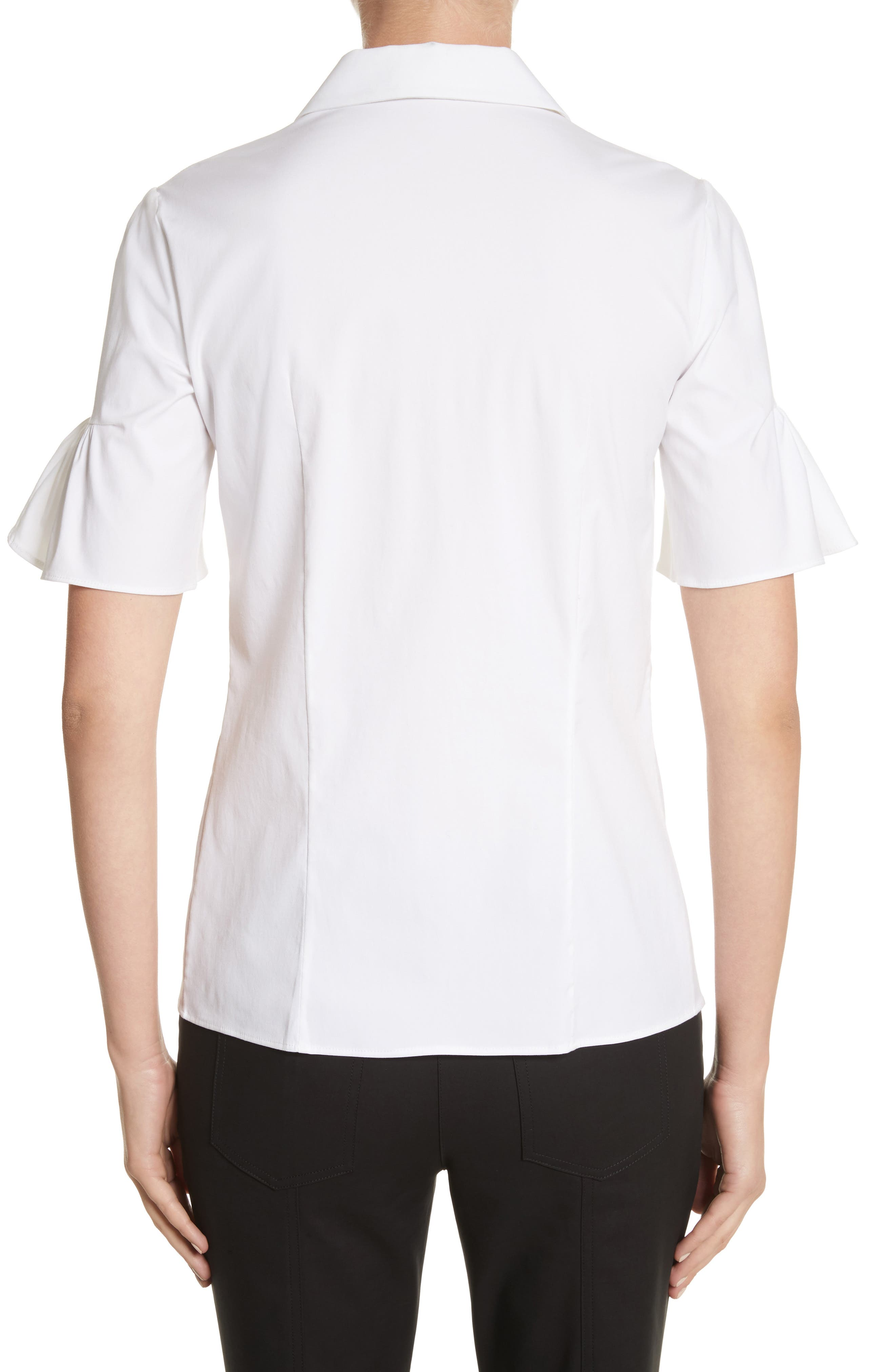 Alternate Image 2  - Michael Kors Bell Sleeve Shirt