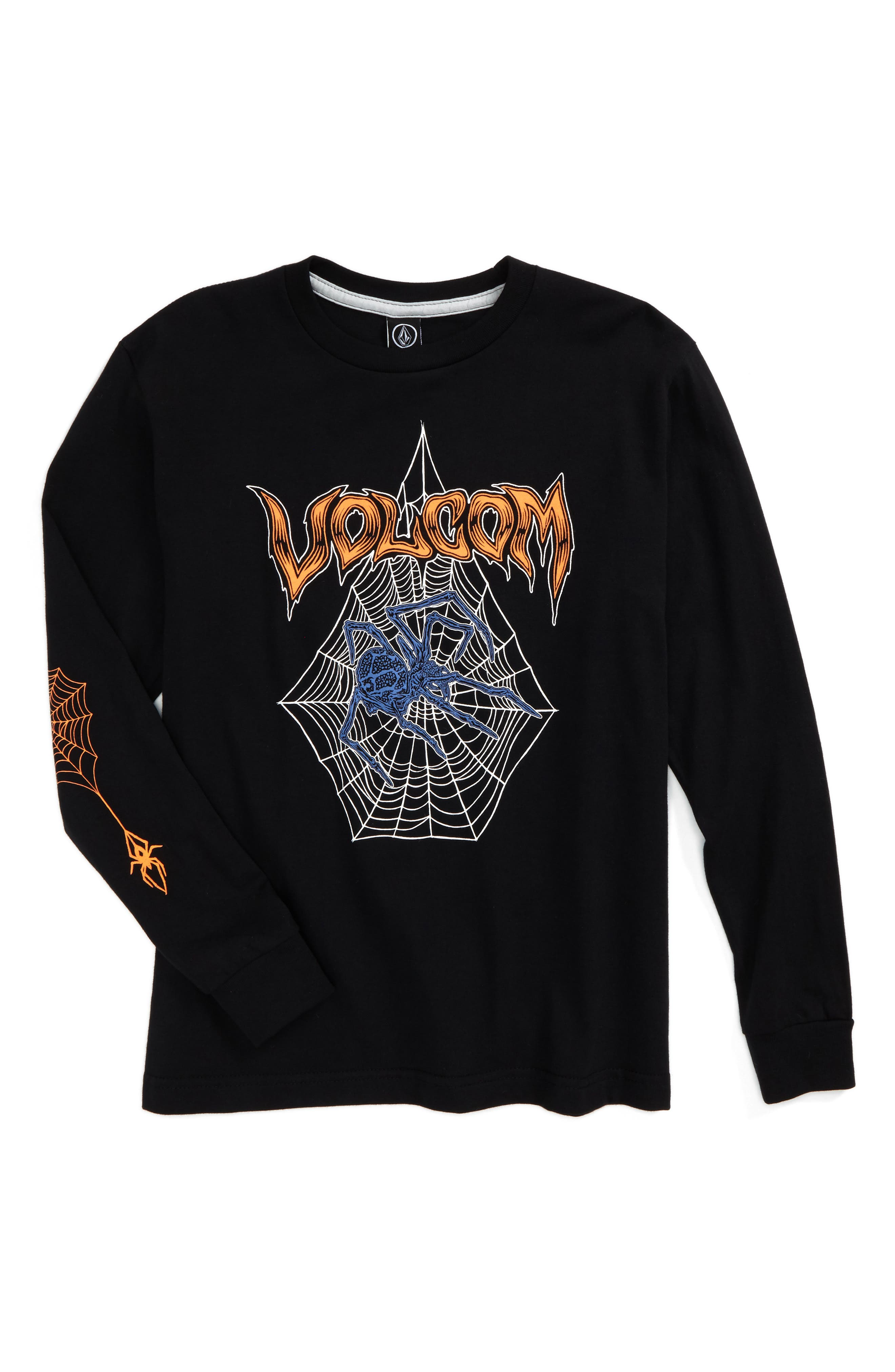 Volcom Venom Spider T-Shirt (Big Boys)