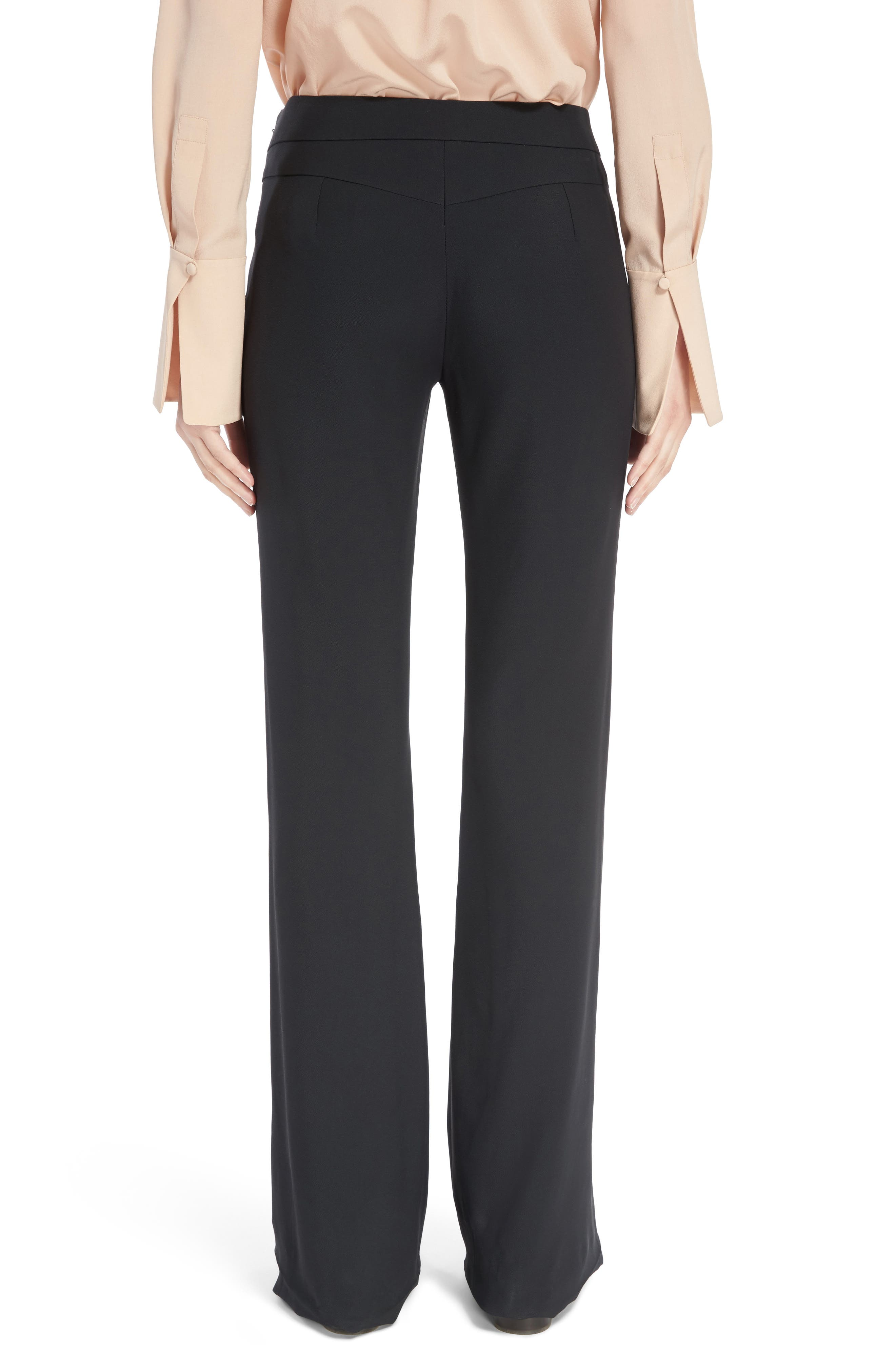Alternate Image 2  - Chloé Asymmetrical Button Flare Cady Pants