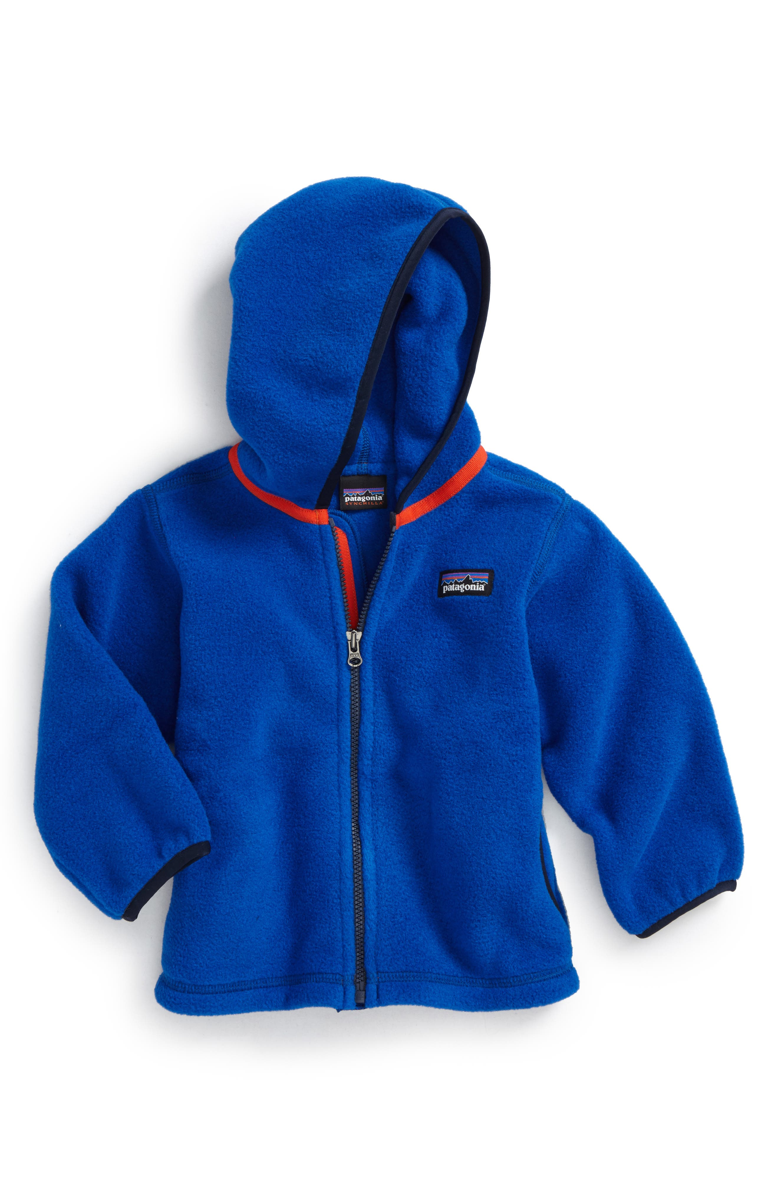 Alternate Image 1 Selected - Patagonia Synchilla® Fleece Cardigan (Baby Boys)