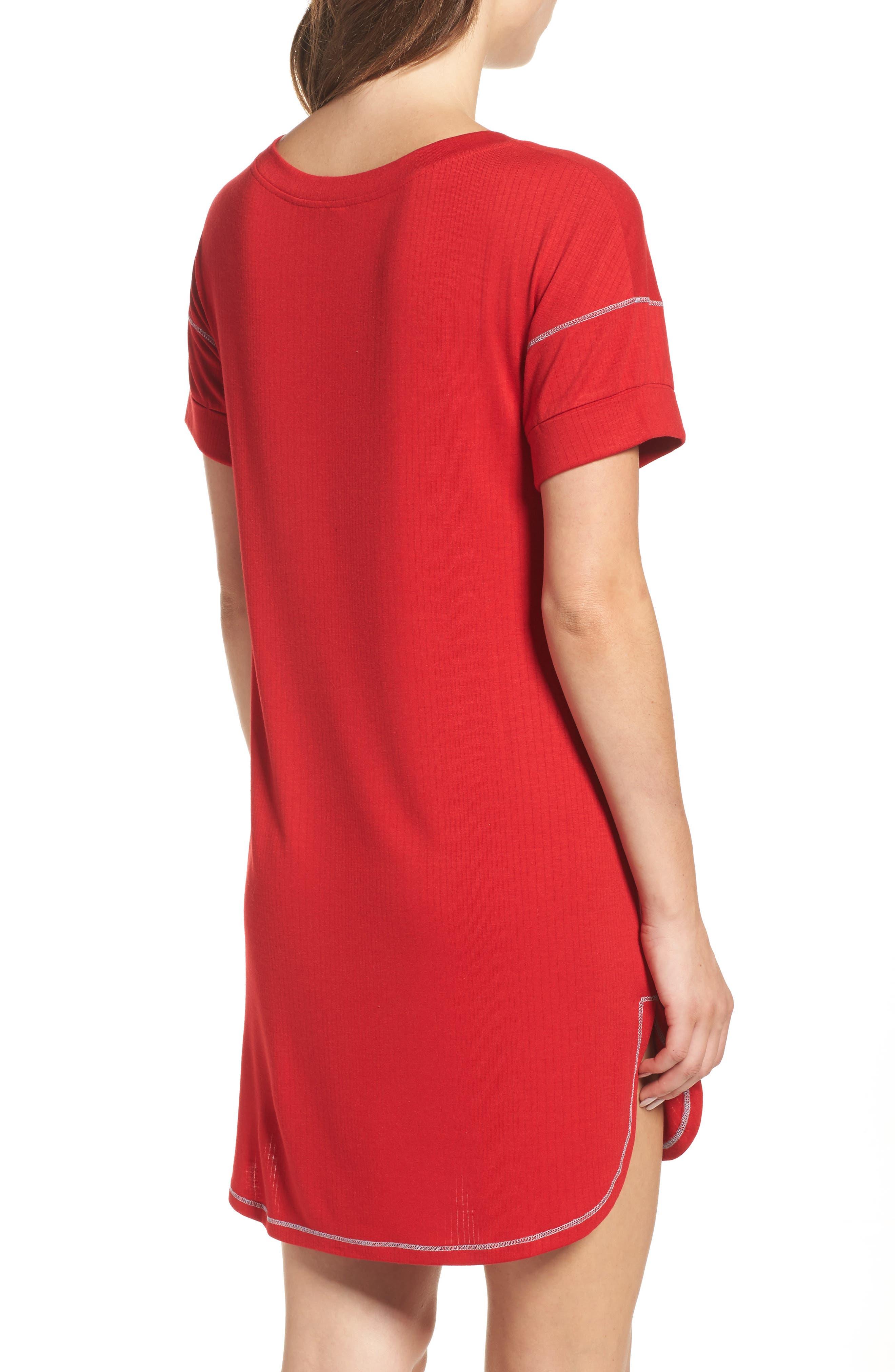 Alternate Image 2  - Honeydew Intimates Rib Sleep Shirt