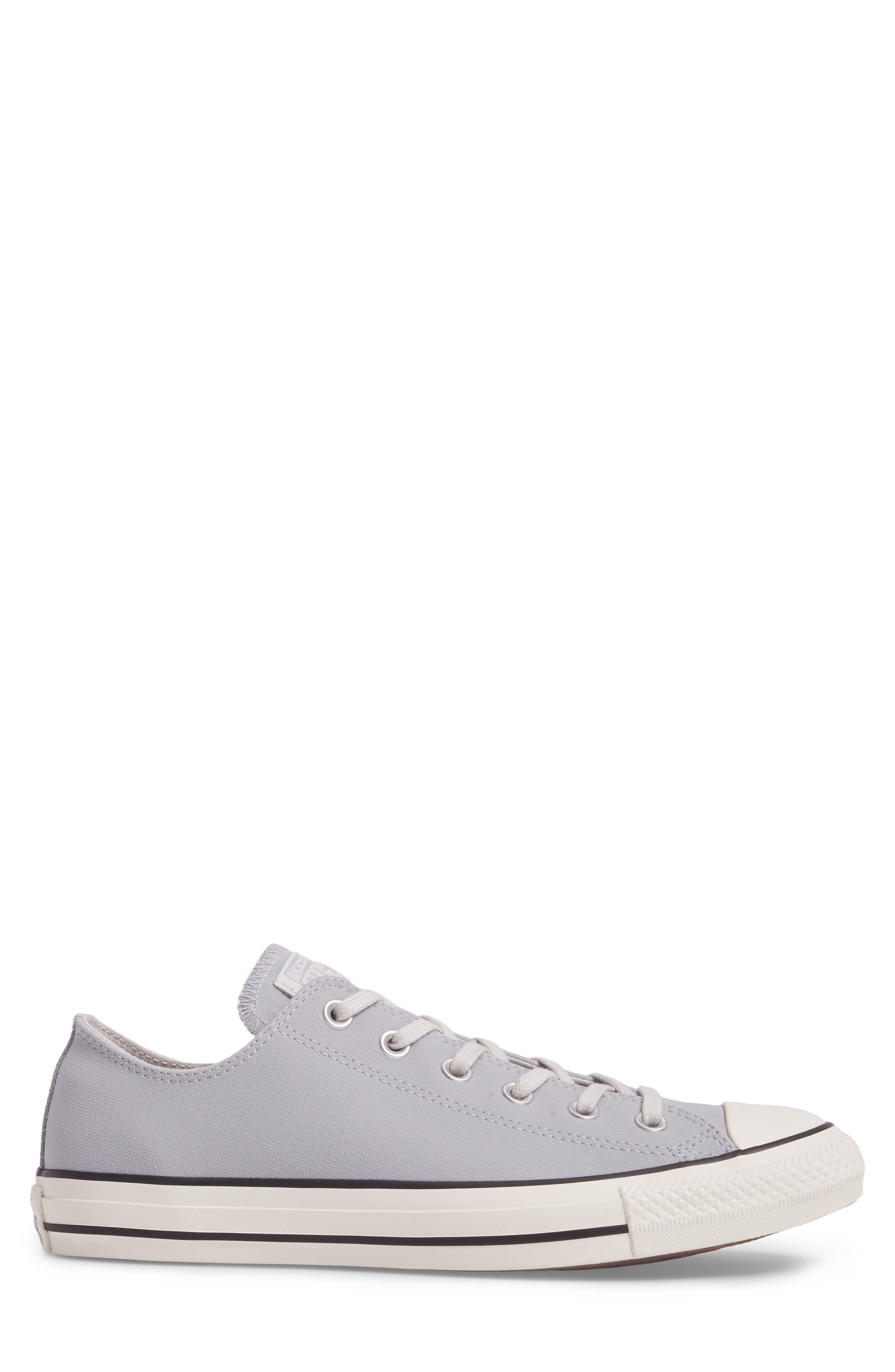 Chuck Taylor<sup>®</sup> All Star<sup>®</sup> Lo Sneaker,                             Alternate thumbnail 3, color,                             Wolf Grey