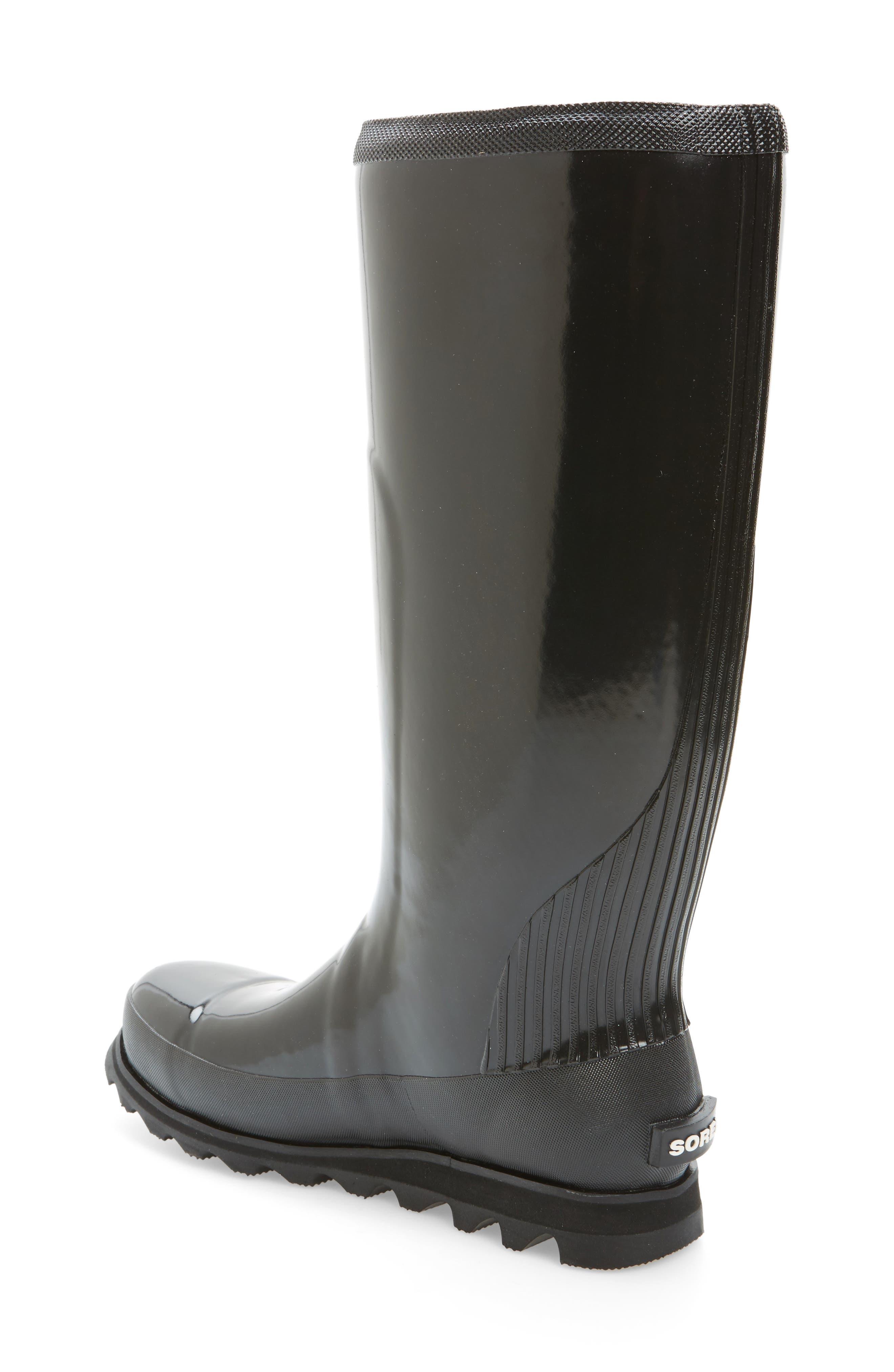 Alternate Image 2  - SOREL Joan Glossy Tall Rain Boot (Women)