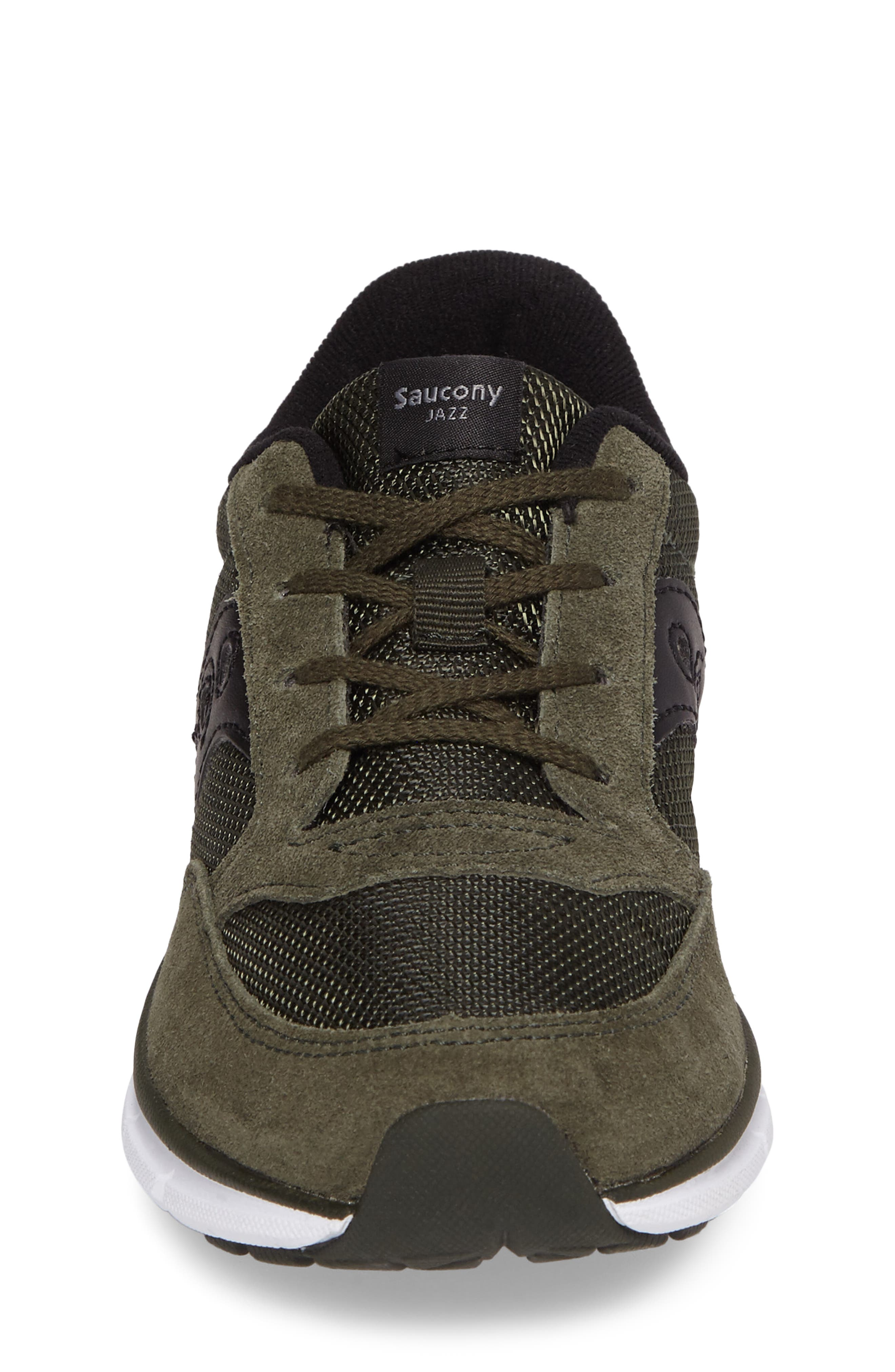 Jazz Lite Sneaker,                             Alternate thumbnail 4, color,                             Olive