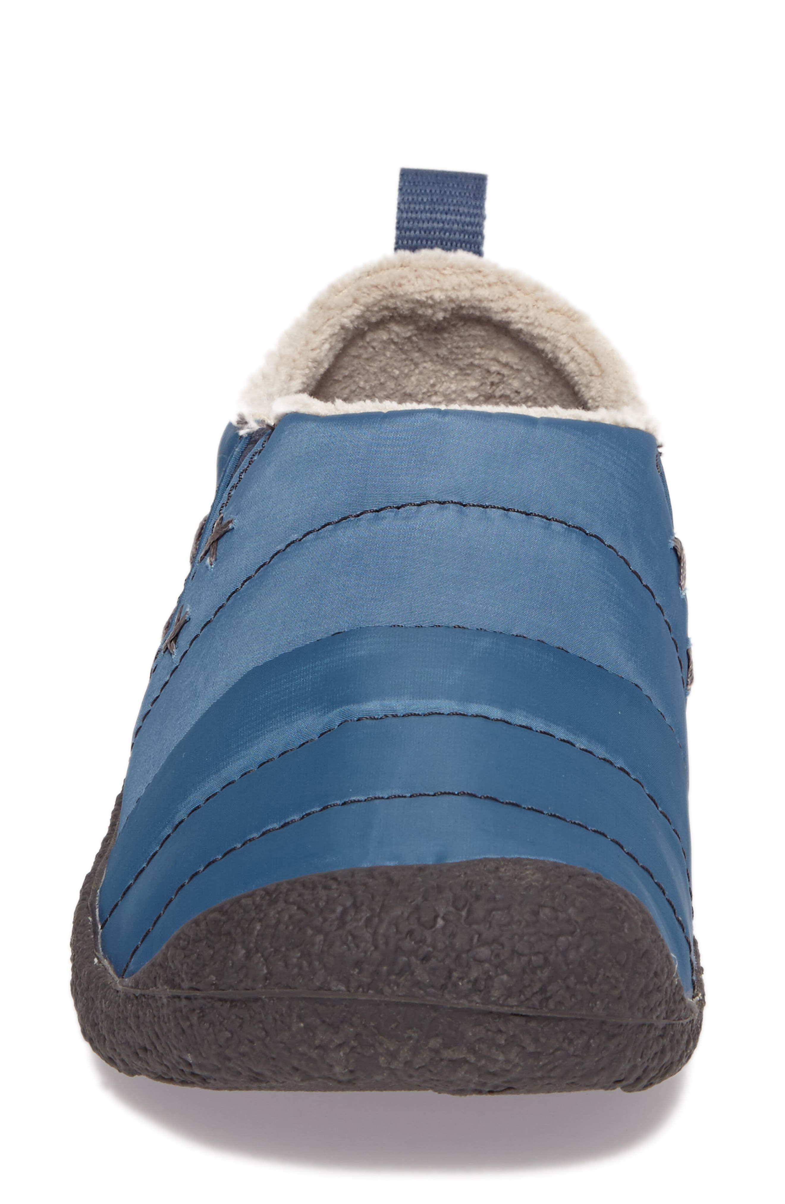 Howser II Water-Resistant Round Toe Clog,                             Alternate thumbnail 4, color,                             Captains Blue Nylon