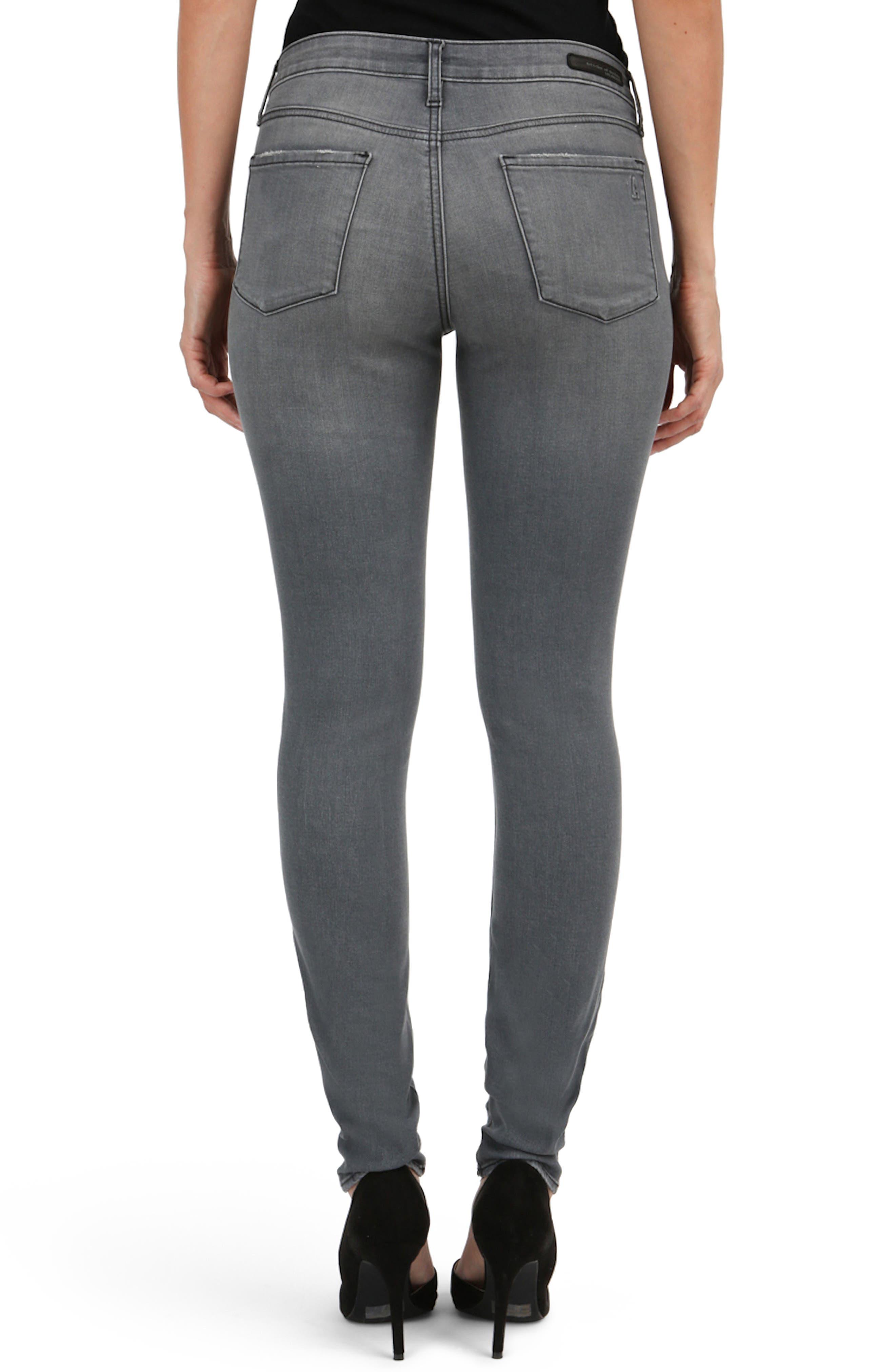 Alternate Image 2  - Articles of Society Mya Skinny Jeans (Eagle)