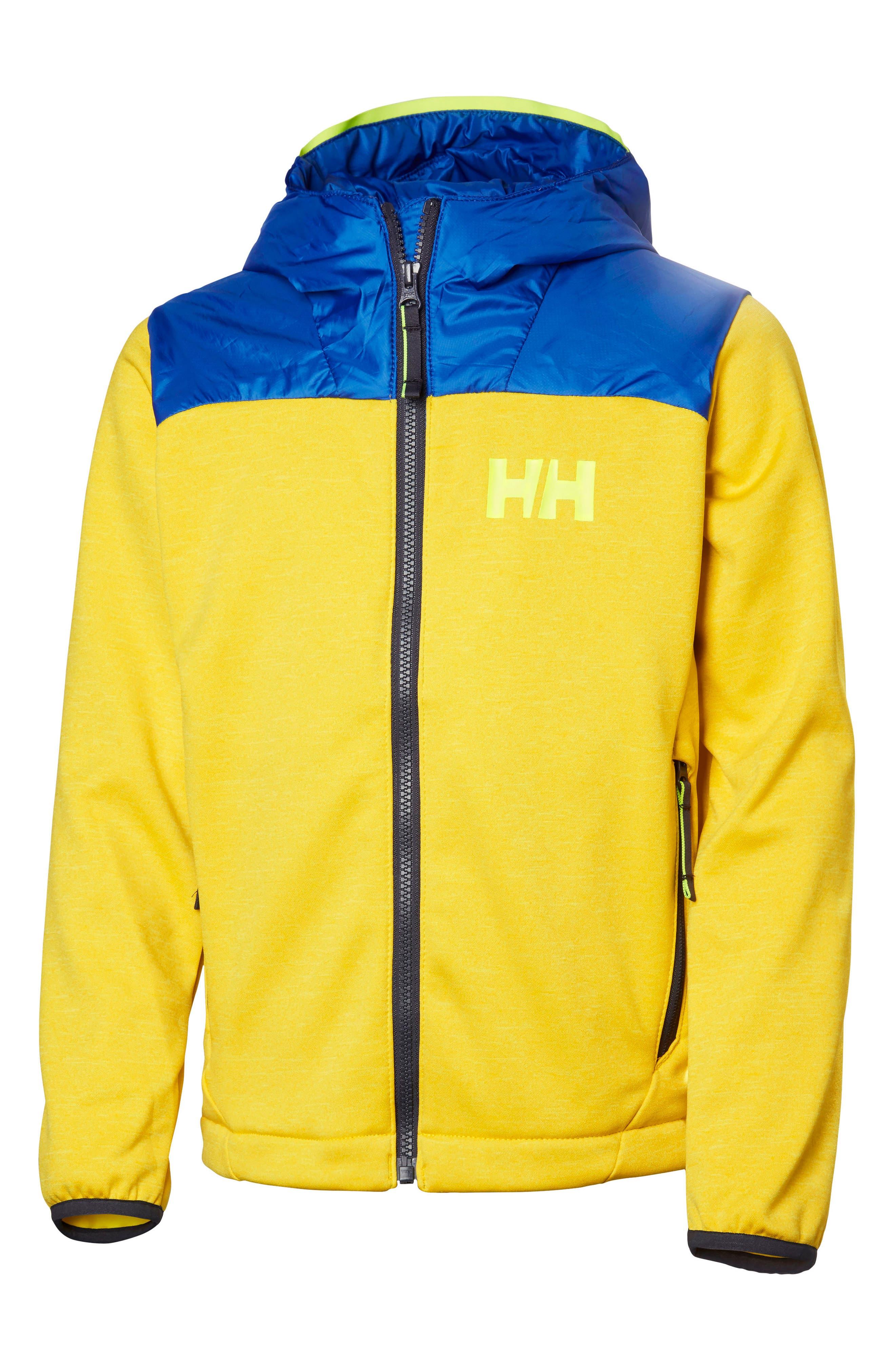 Hybrid Midlayer Jacket,                         Main,                         color, Sulphur