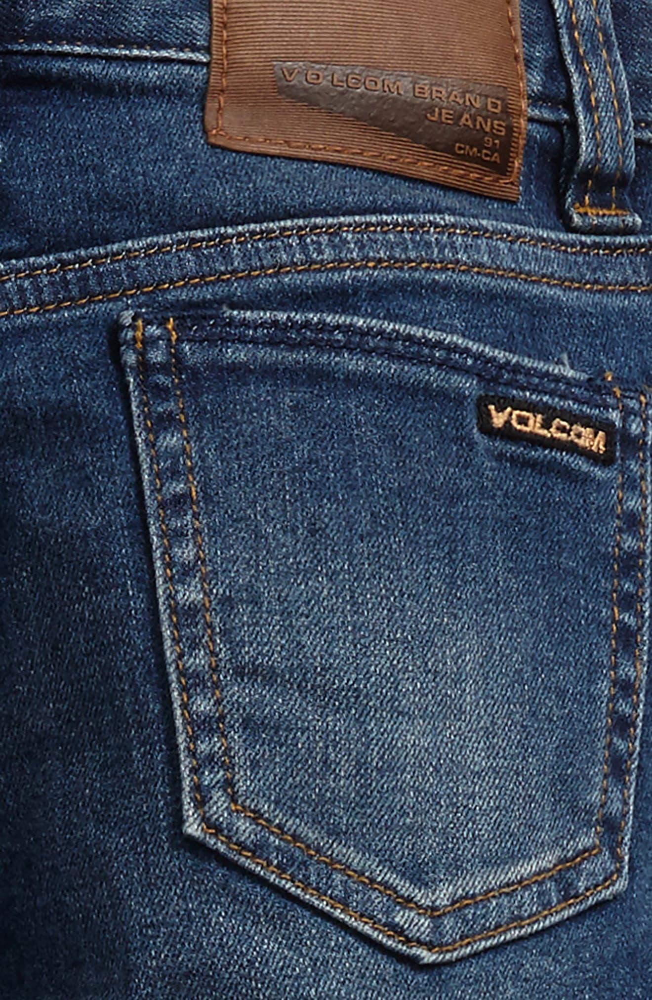 Alternate Image 3  - Volcom 'Vorta' Slim Fit Jeans (Toddler Boys & Little Boys)