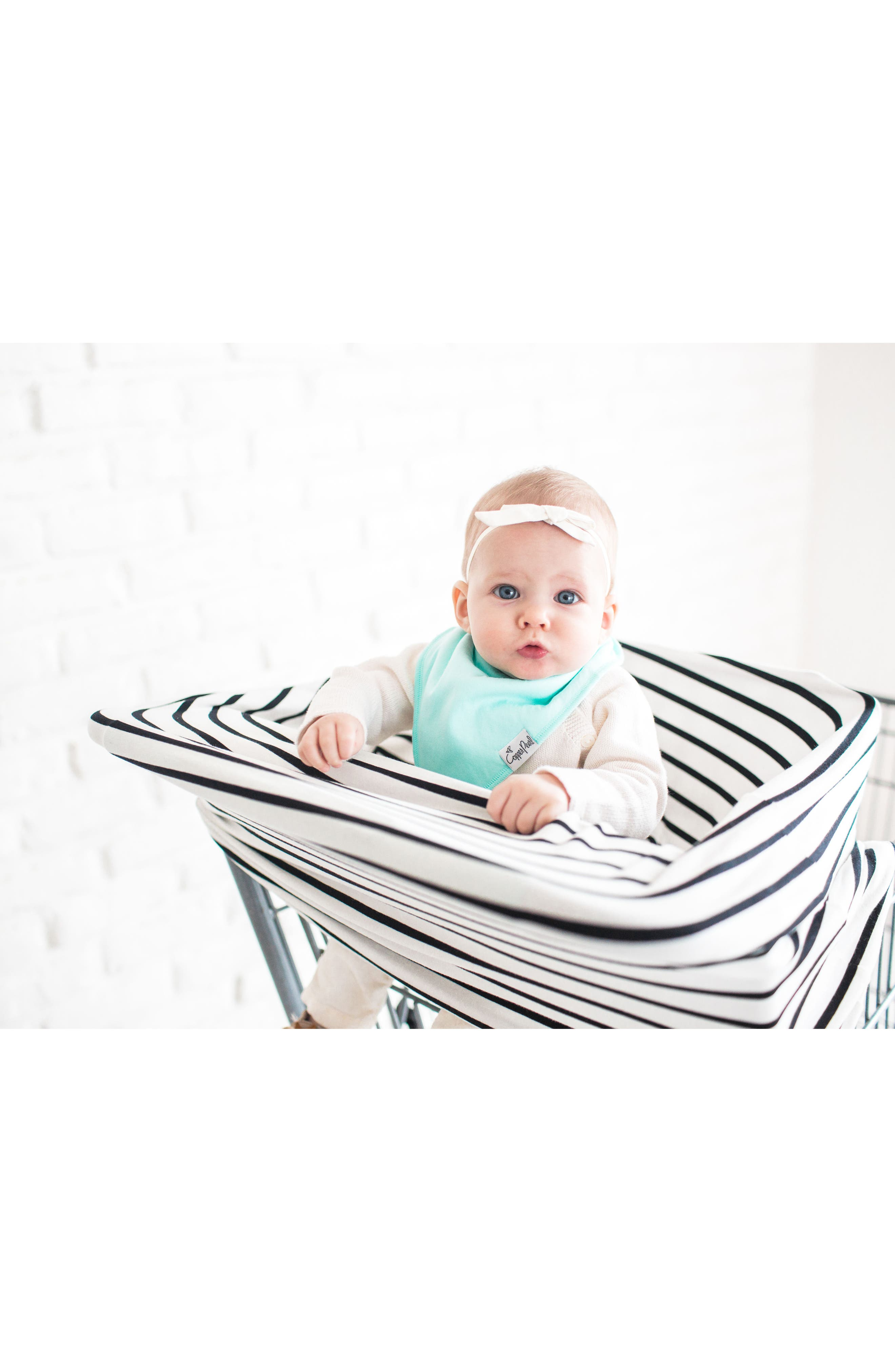 Lily Bib, Multiuse Cover & Swaddle Blanket Gift Set,                             Alternate thumbnail 4, color,                             Lily