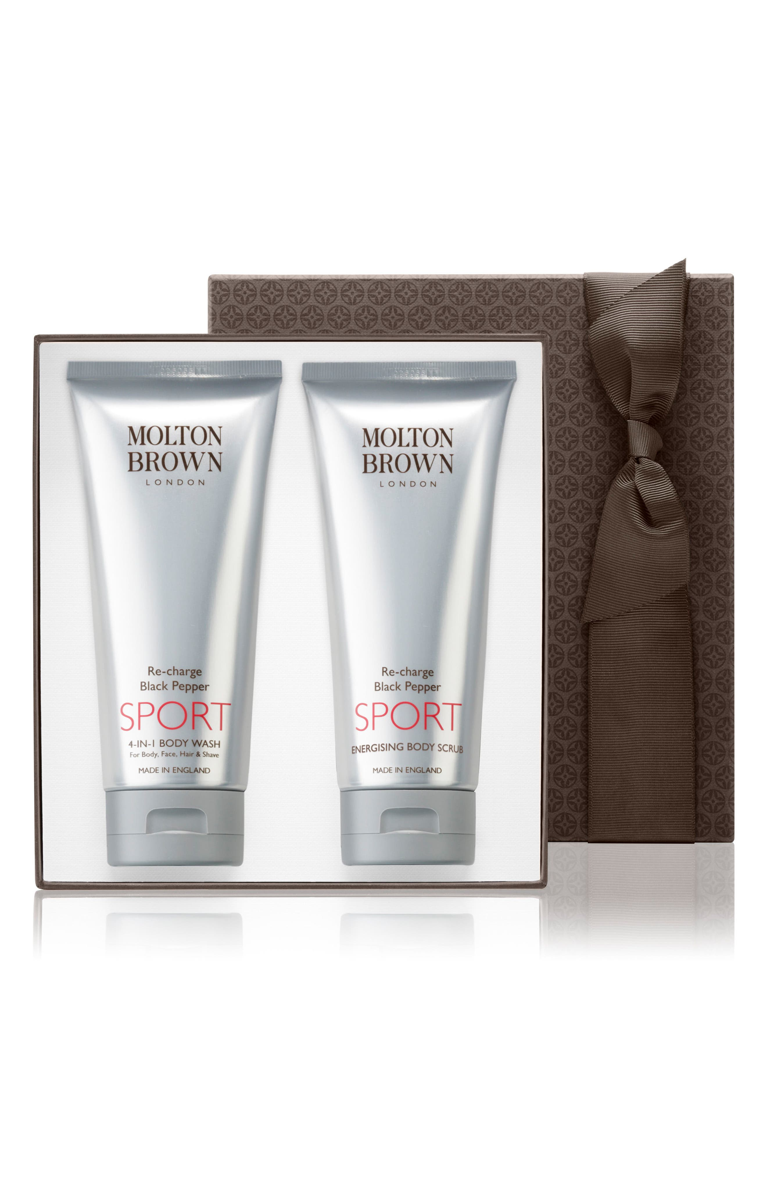 MOLTON BROWN London Re-Charge Black Pepper Sport Set ($68 Value)