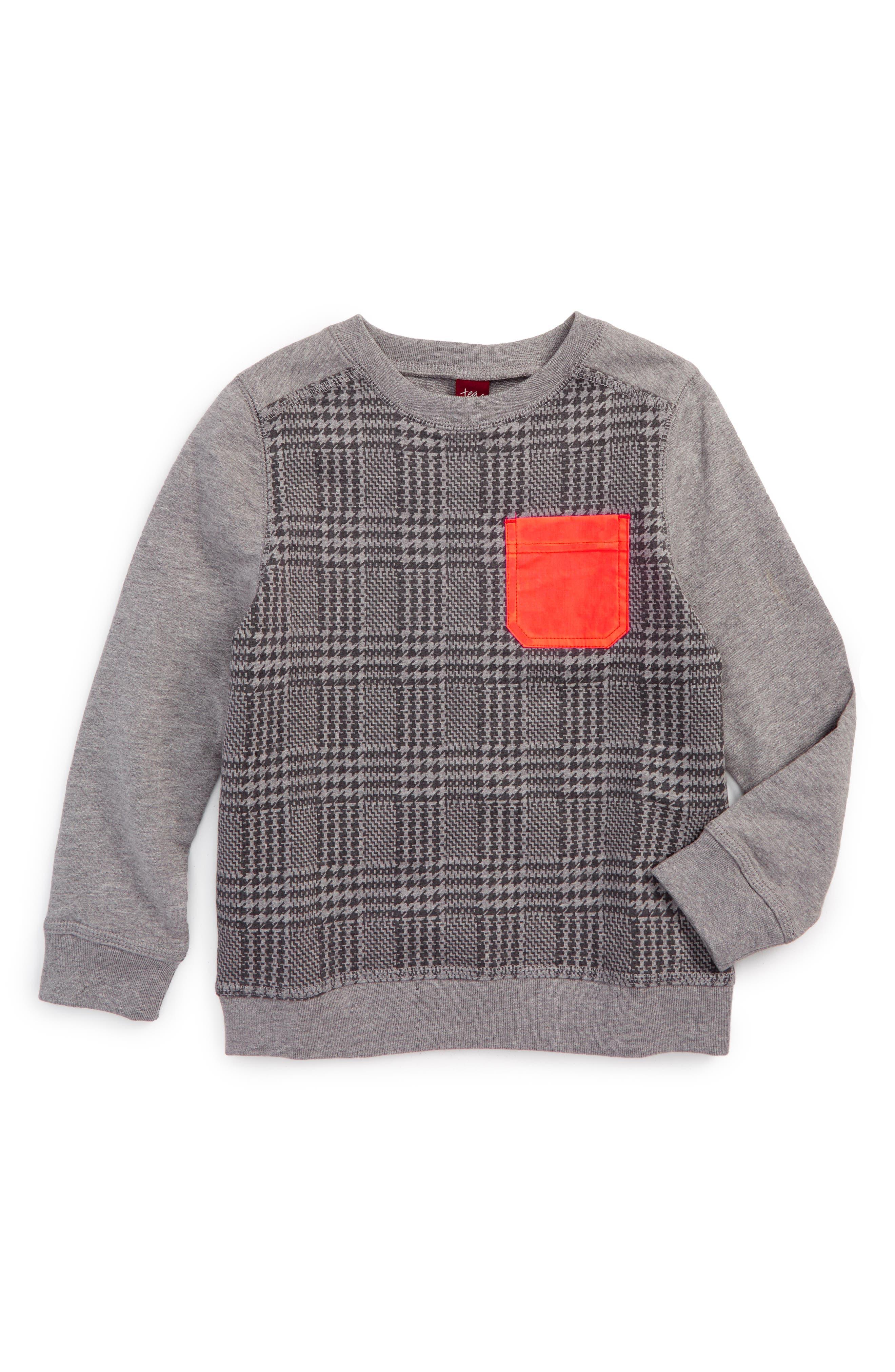 Heughan Sweatshirt,                         Main,                         color, Sharkfin