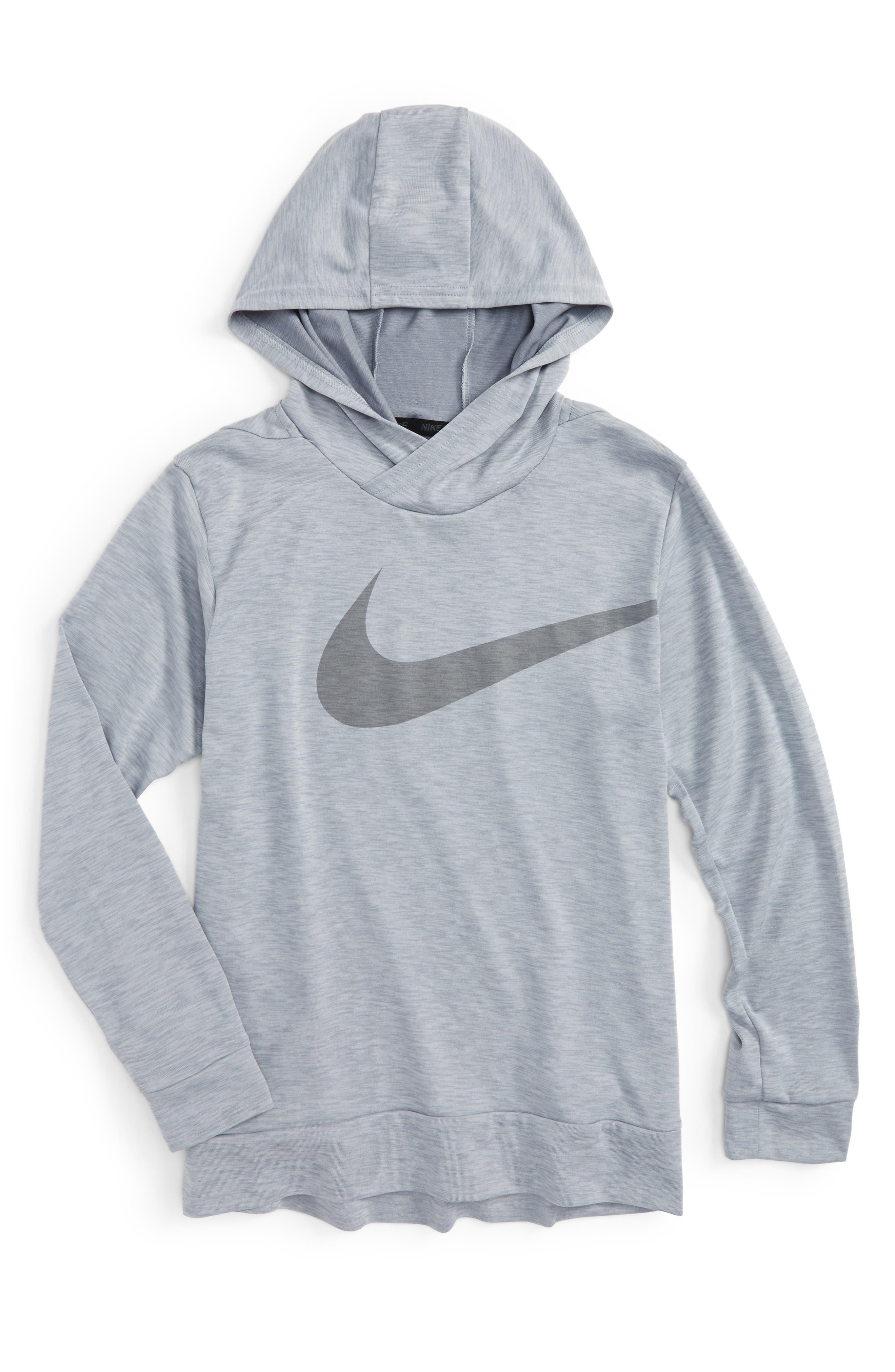 Main Image - Nike Breathe Training Hoodie (Little Boys & Big Boys)