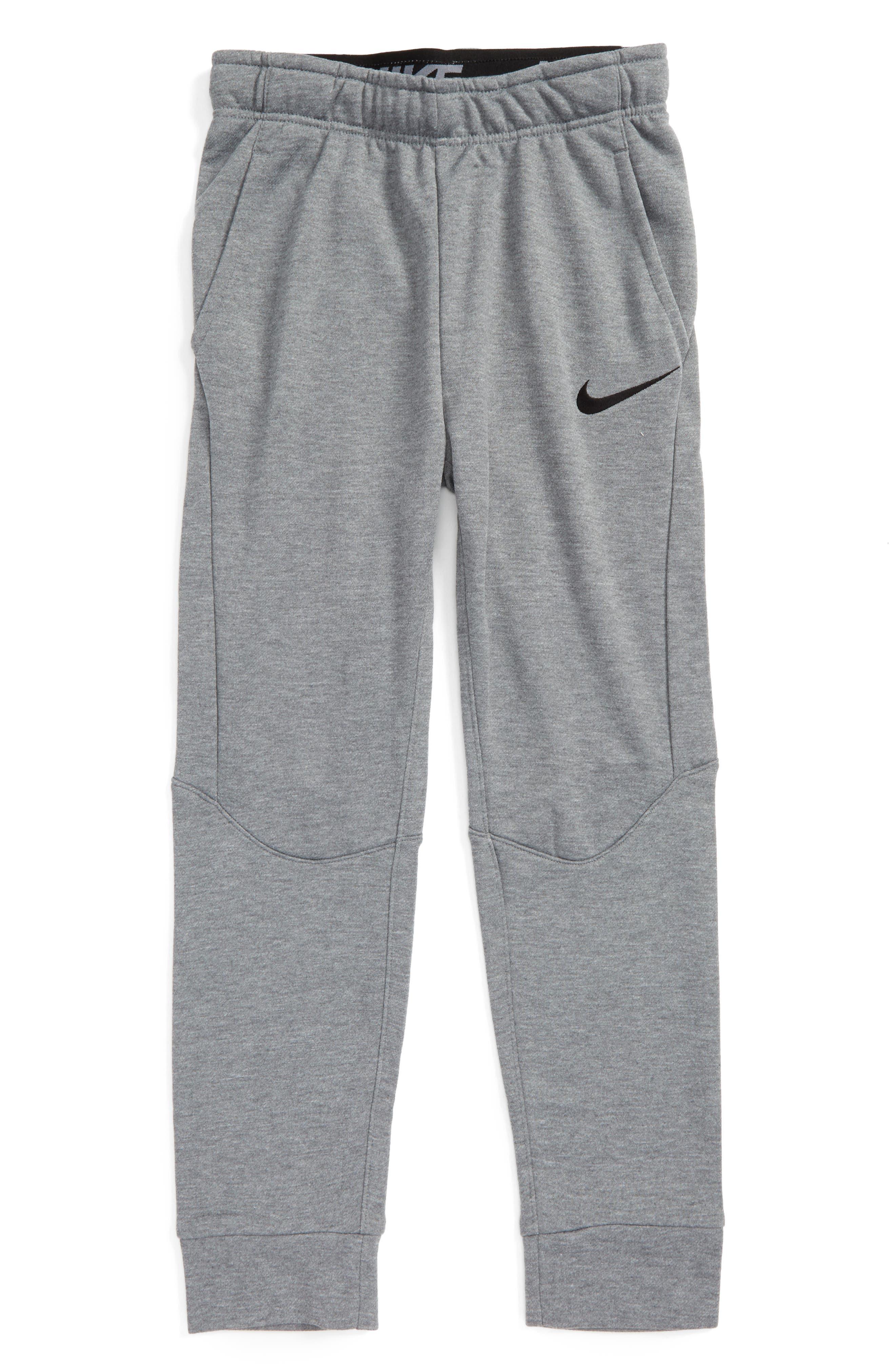 Dry Fleece Training Pants,                             Main thumbnail 1, color,                             Carb H/ Black