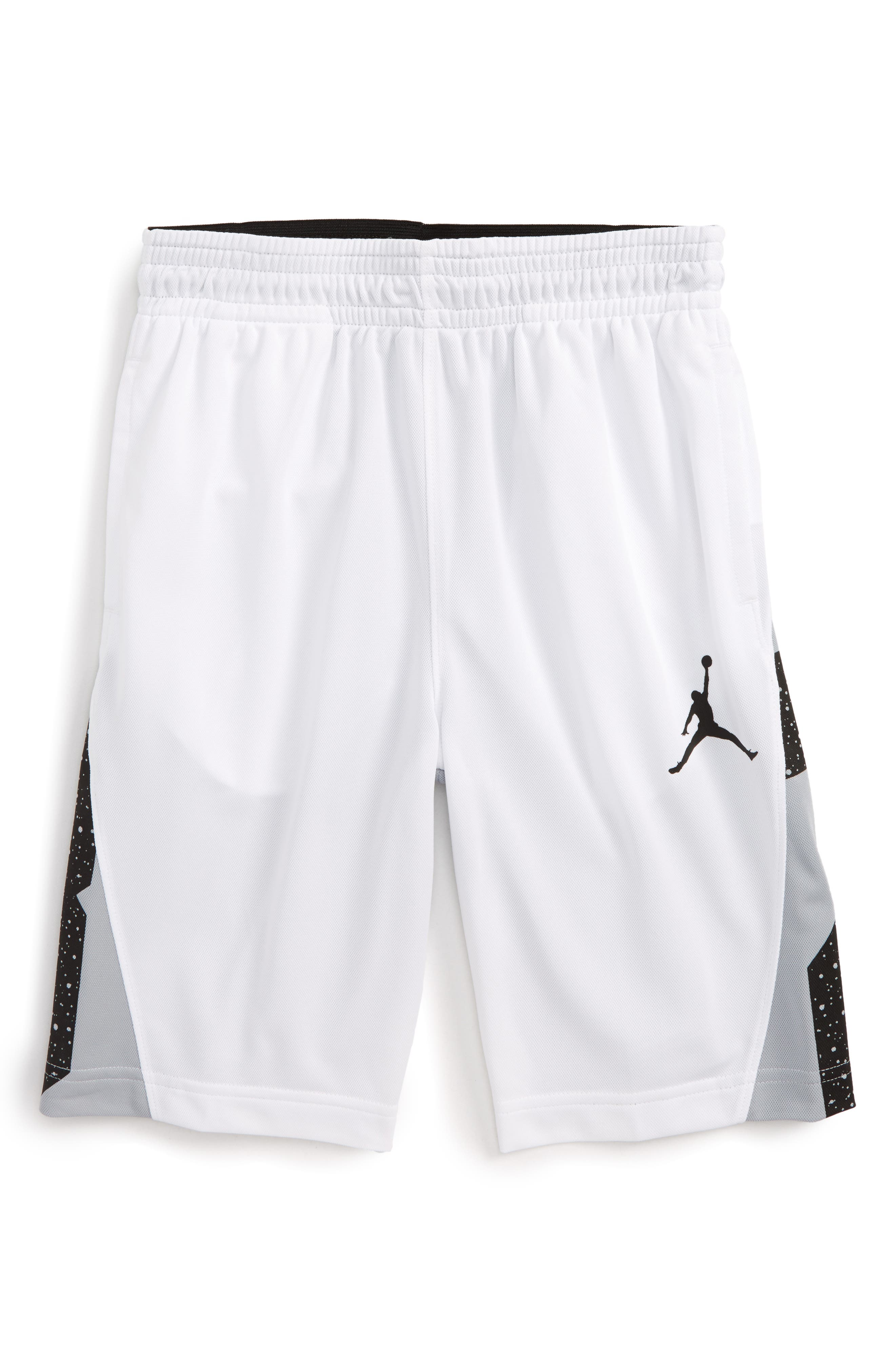Jordan Speckle 23 Basketball Shorts (Big Boys)
