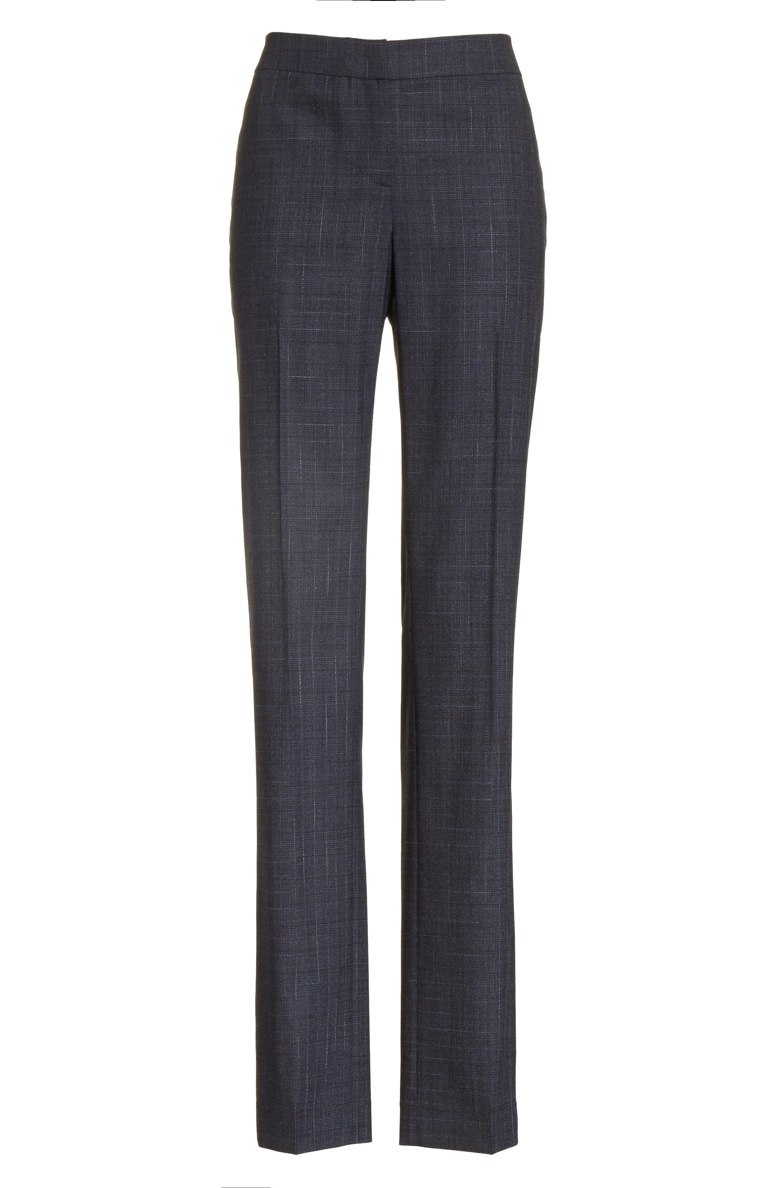 Alternate Image 8  - Lafayette 148 New York Barrow Stretch Wool Pants