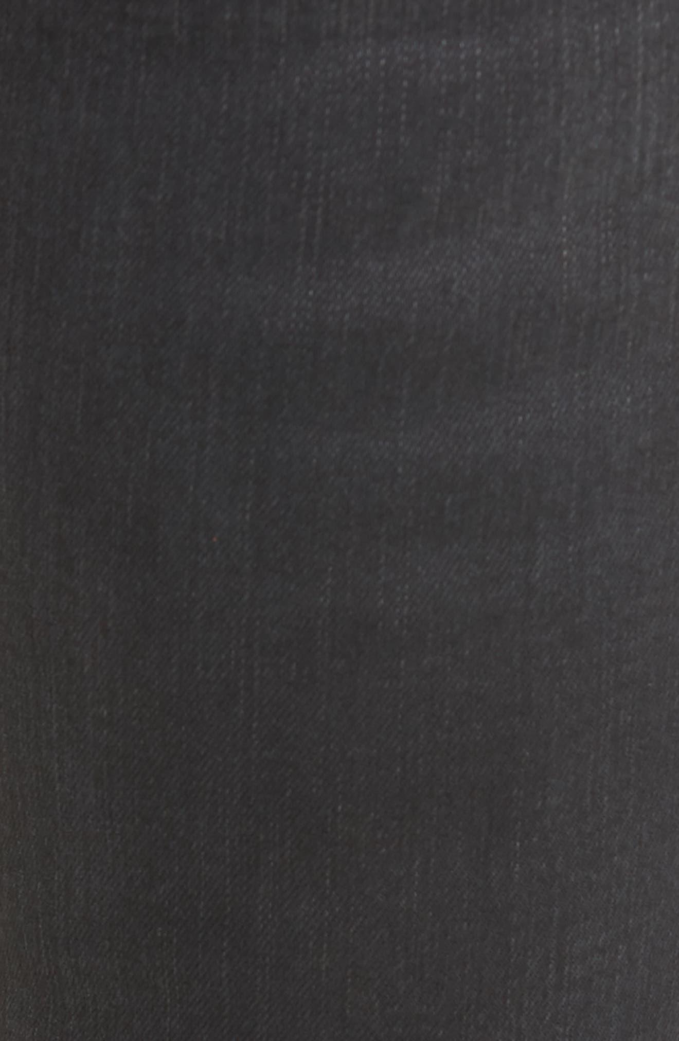 Alternate Image 6  - BLANKNYC Crash Tactics Lace Up Skinny Jeans