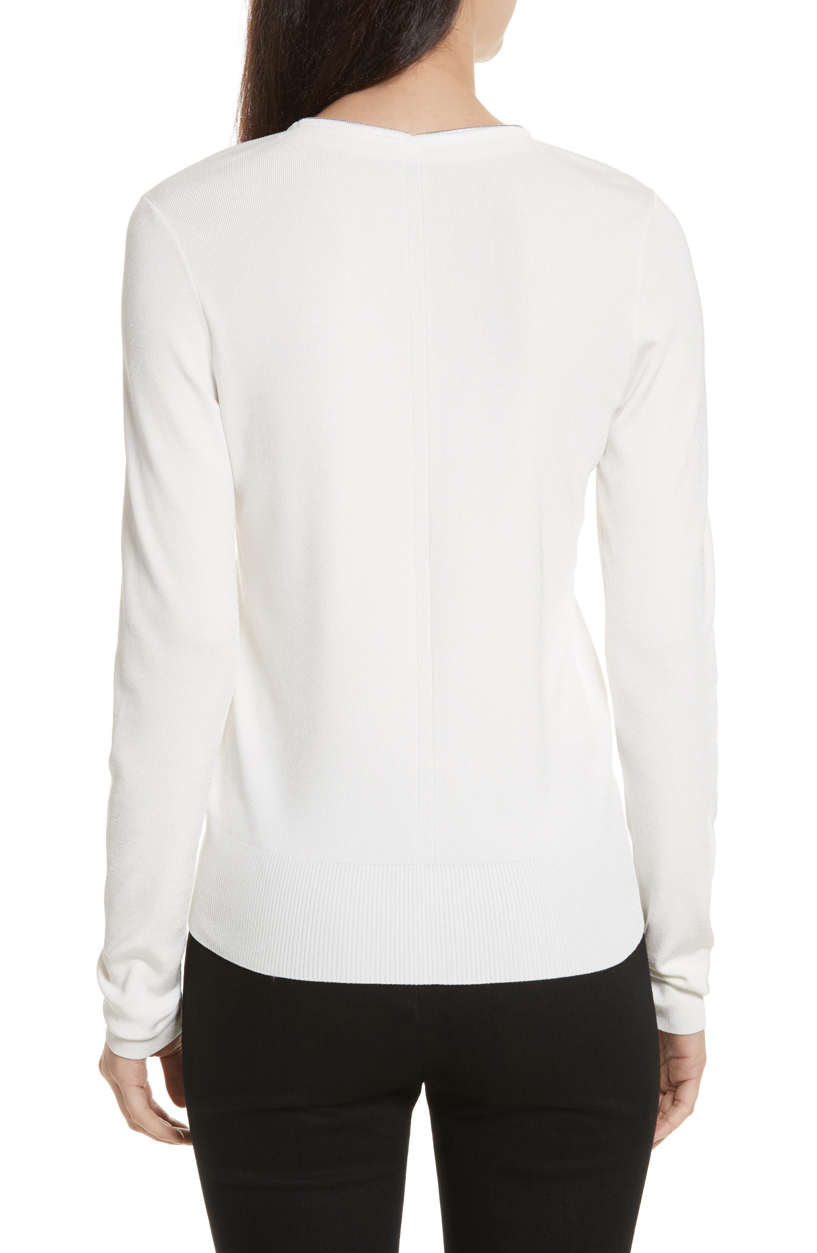 Alternate Image 2  - rag & bone Vivienne Front Zip Sweater