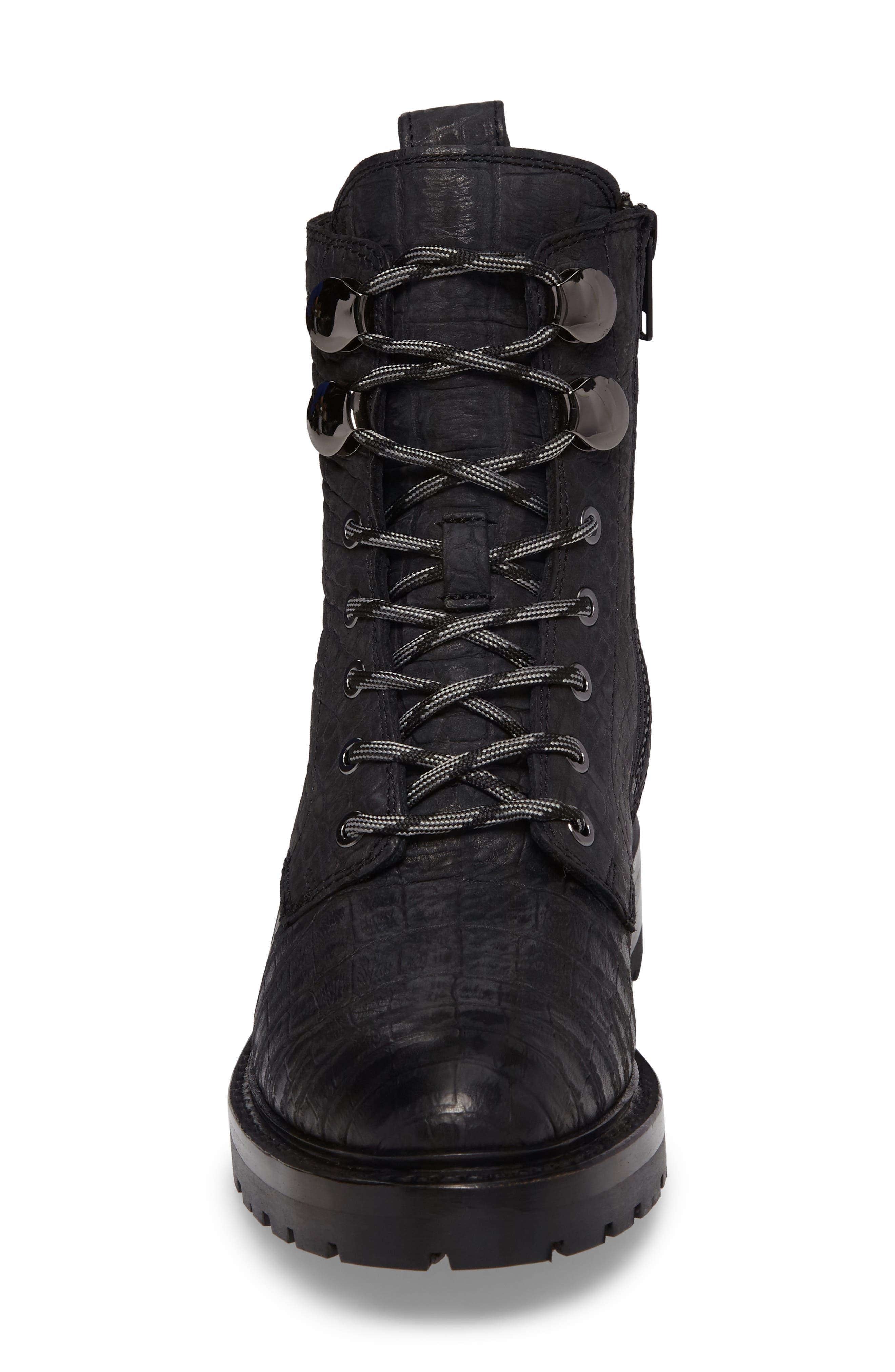 Alternate Image 4  - Frye Julie Hook Combat Boot (Women)