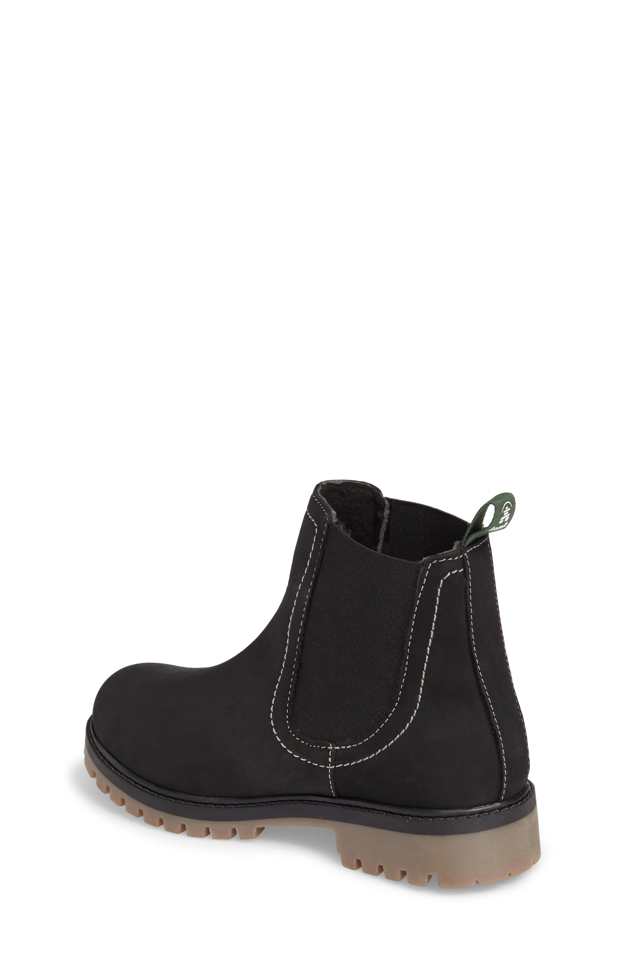 TakodaC Waterproof Chelsea Boot,                             Alternate thumbnail 2, color,                             Black