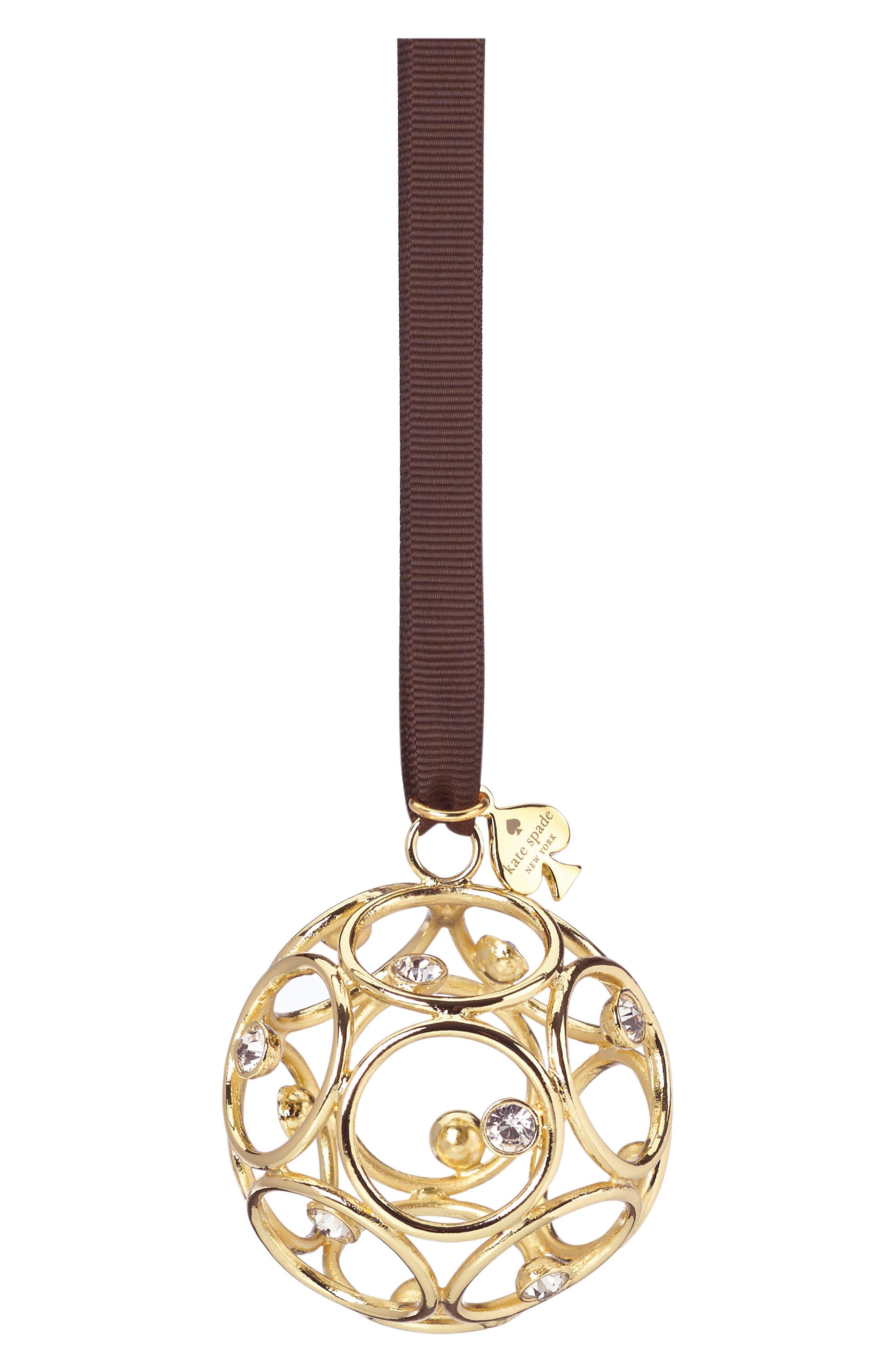 Alternate Image 1 Selected - kate spade new york 2017 annual ornament