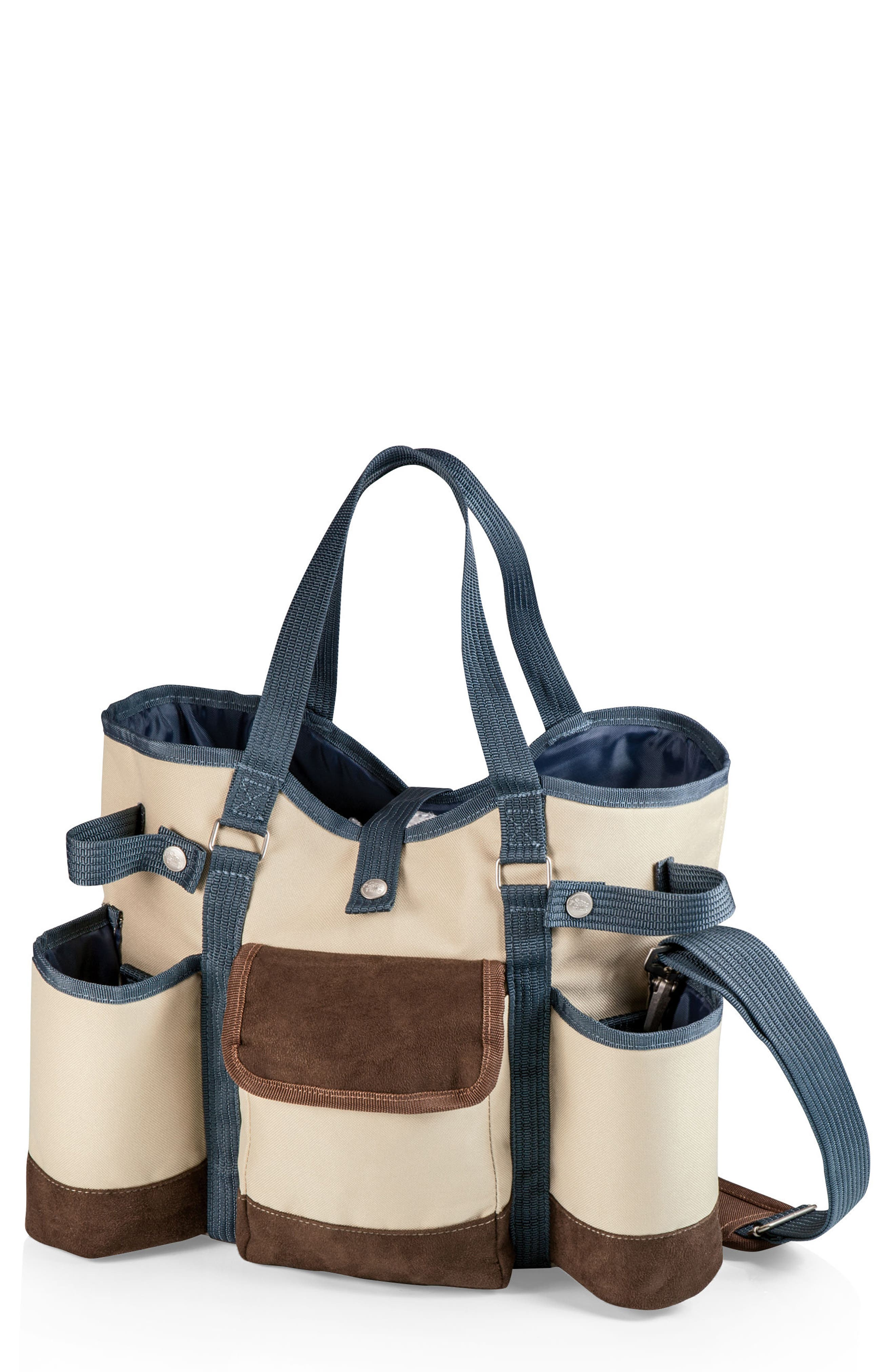 Wine Country Wine & Cheese Tote,                             Main thumbnail 1, color,                             Tan