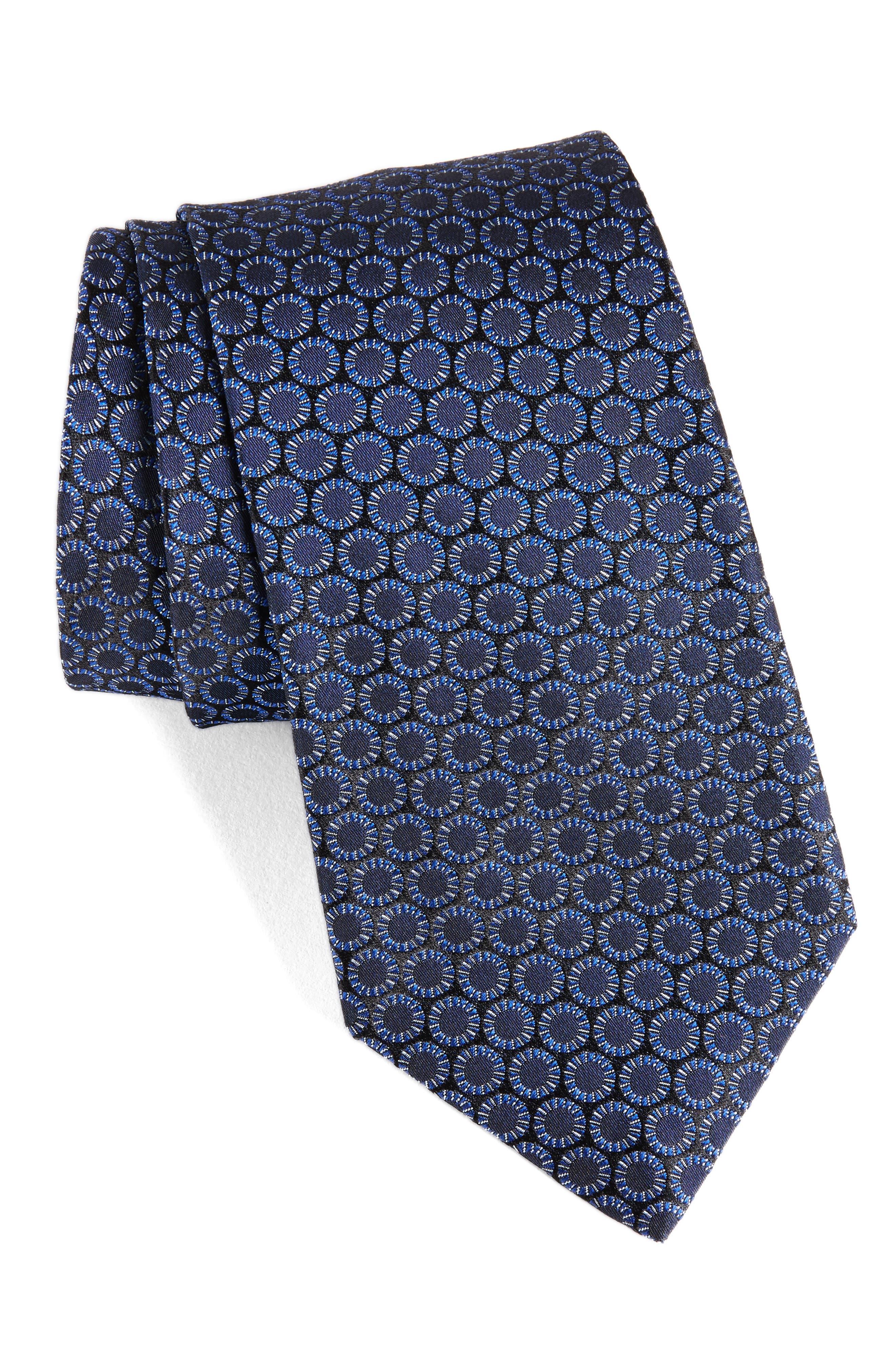 John Varvatos Star USA Stripe Silk Tie