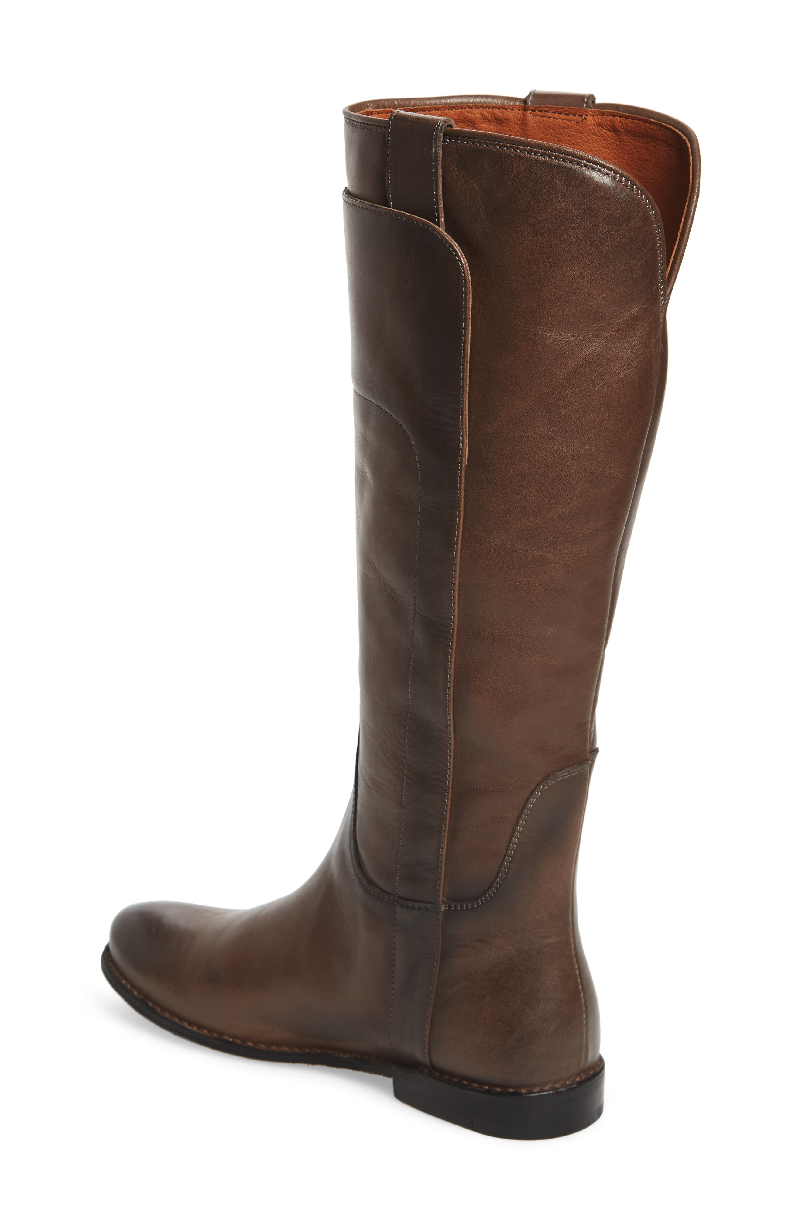 Paige Tall Riding Boot,                             Alternate thumbnail 2, color,                             Smoke
