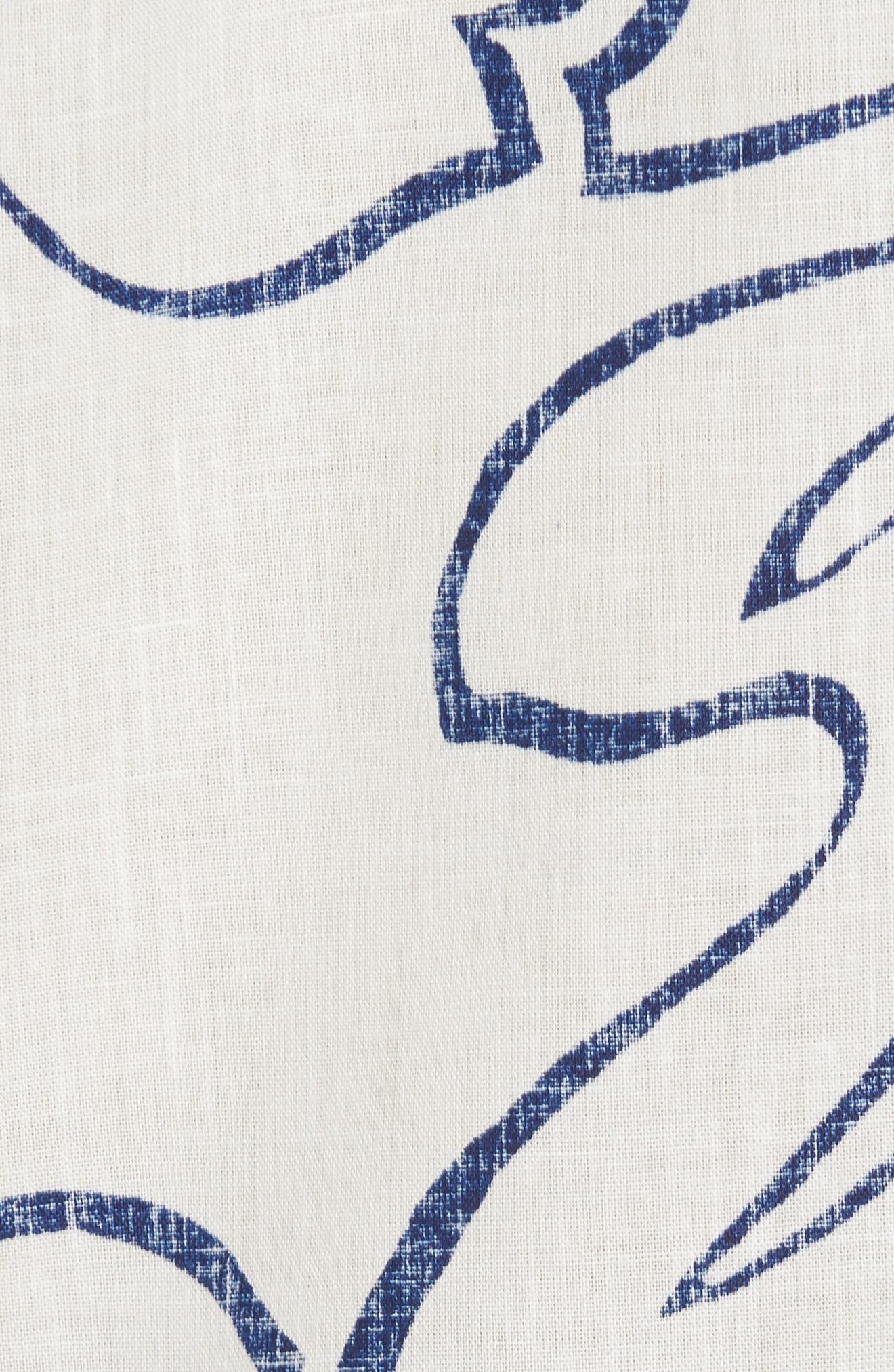 Alternate Image 5  - Reyn Spooner Monstera Ink Classic Fit Sport Shirt