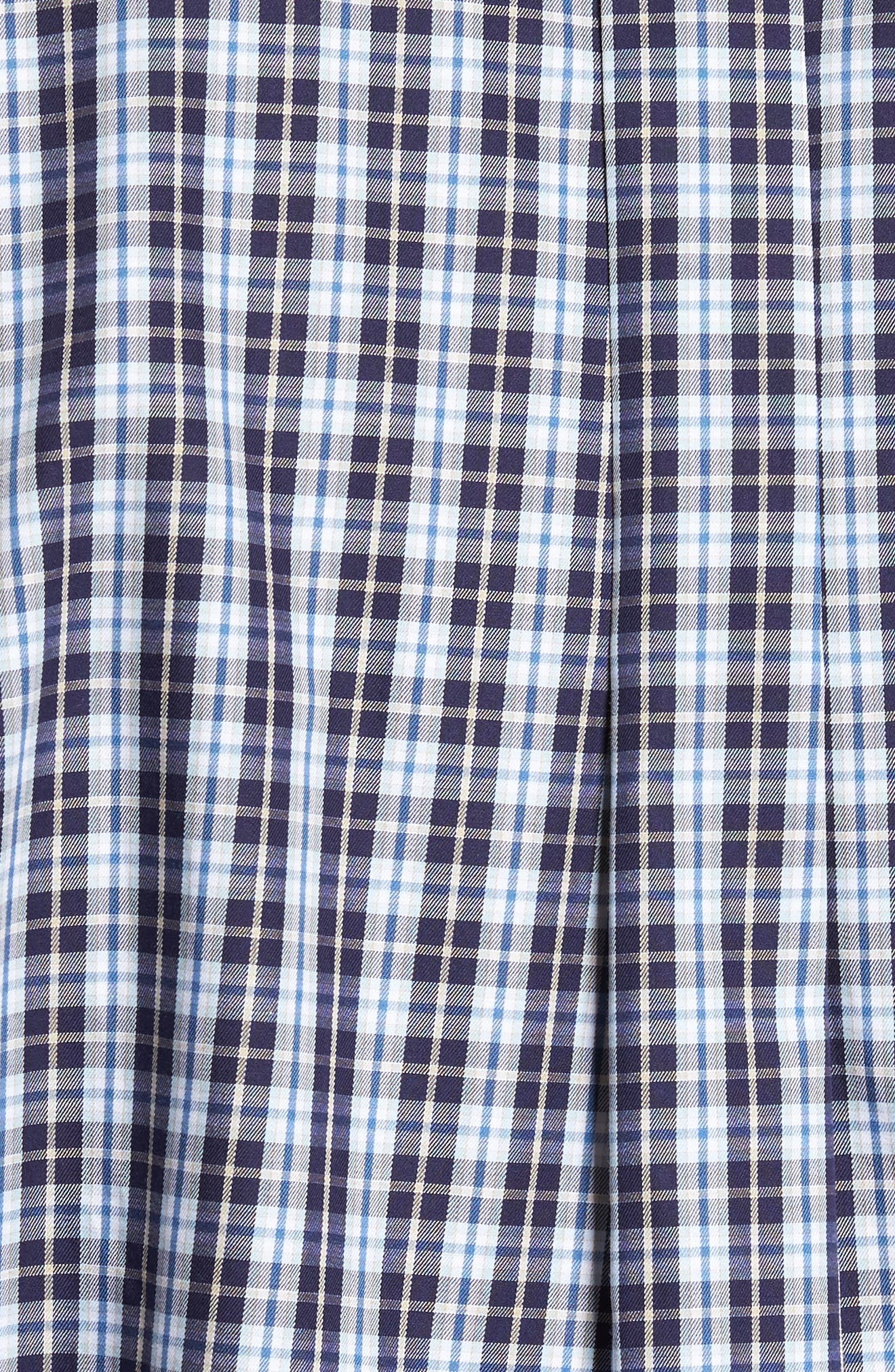 Alternate Image 5  - Peter Millar Dusk Plaid Sport Shirt
