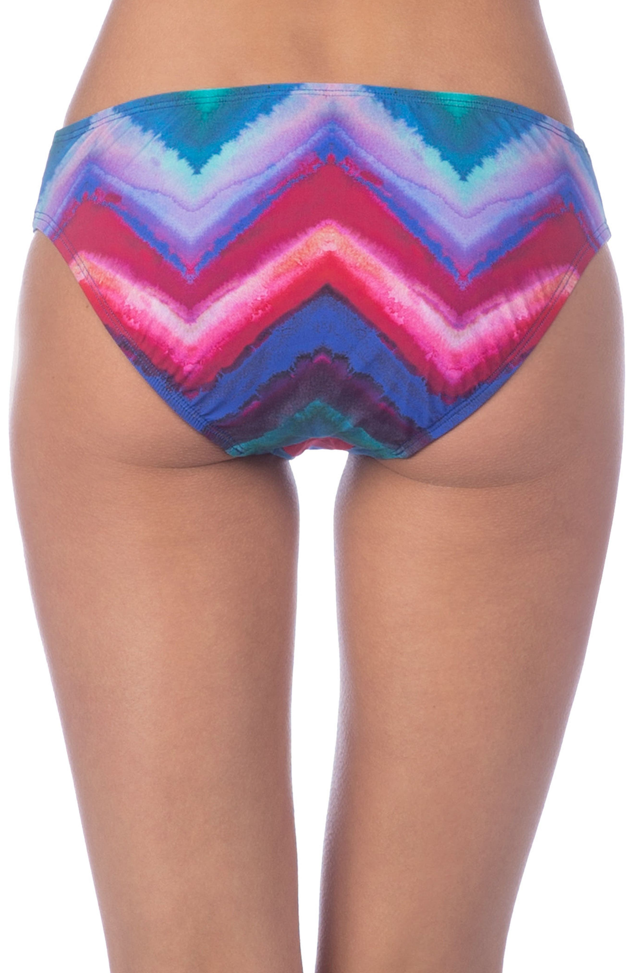 Alternate Image 2  - La Blanca Hidden Gem Hipster Bikini Bottoms