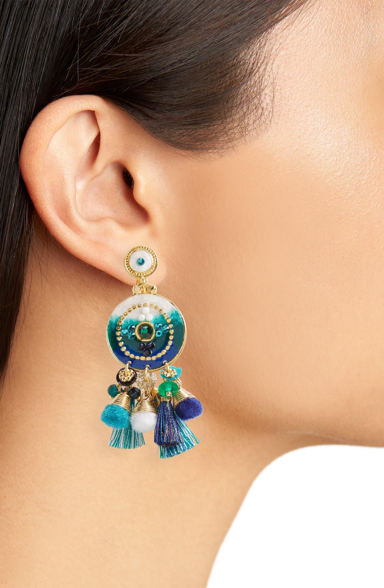 Alternate Image 2  - Gas Bijoux Stella Clip Earrings
