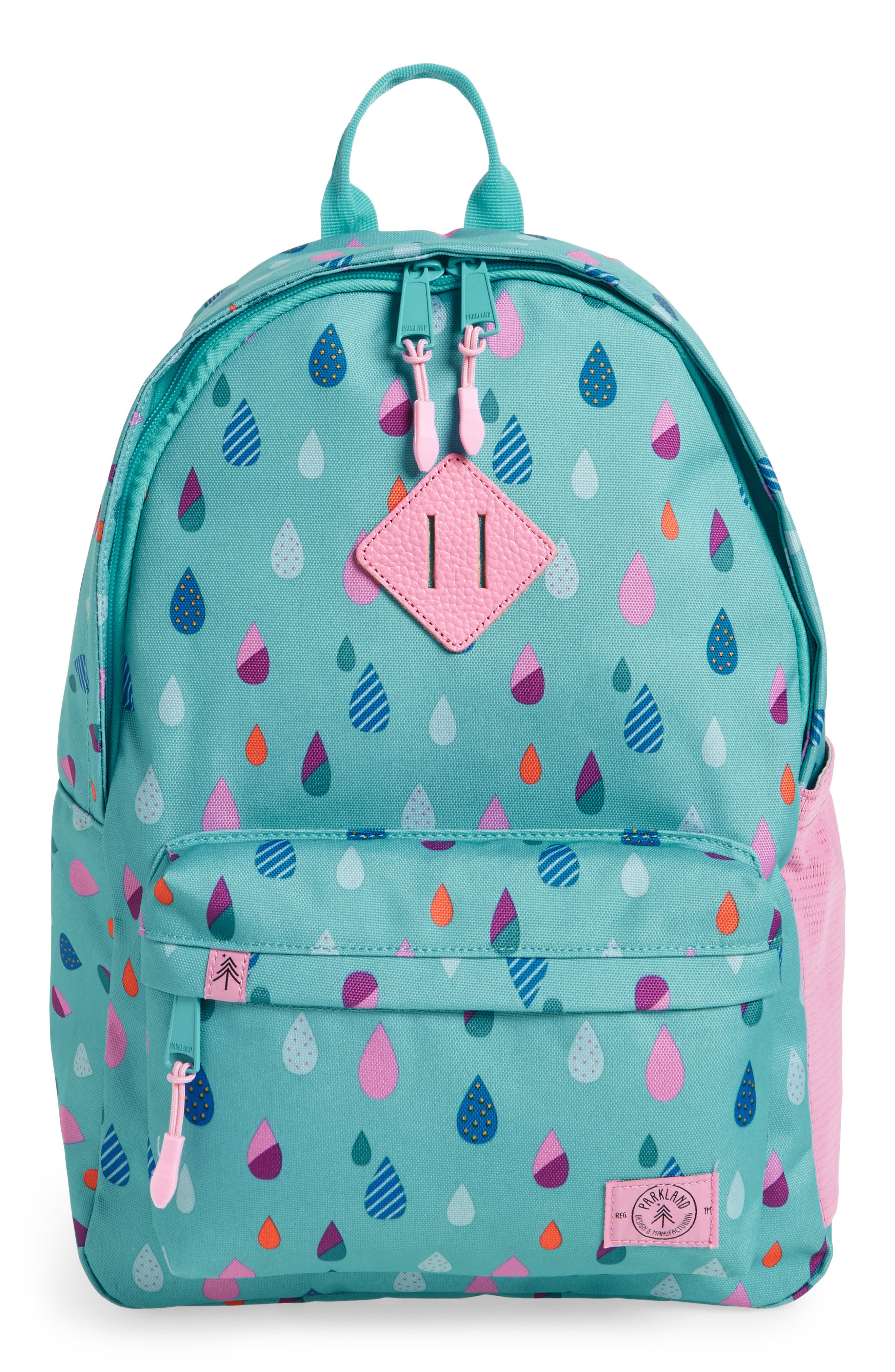 Bayside - Puddles Backpack,                         Main,                         color, Blue