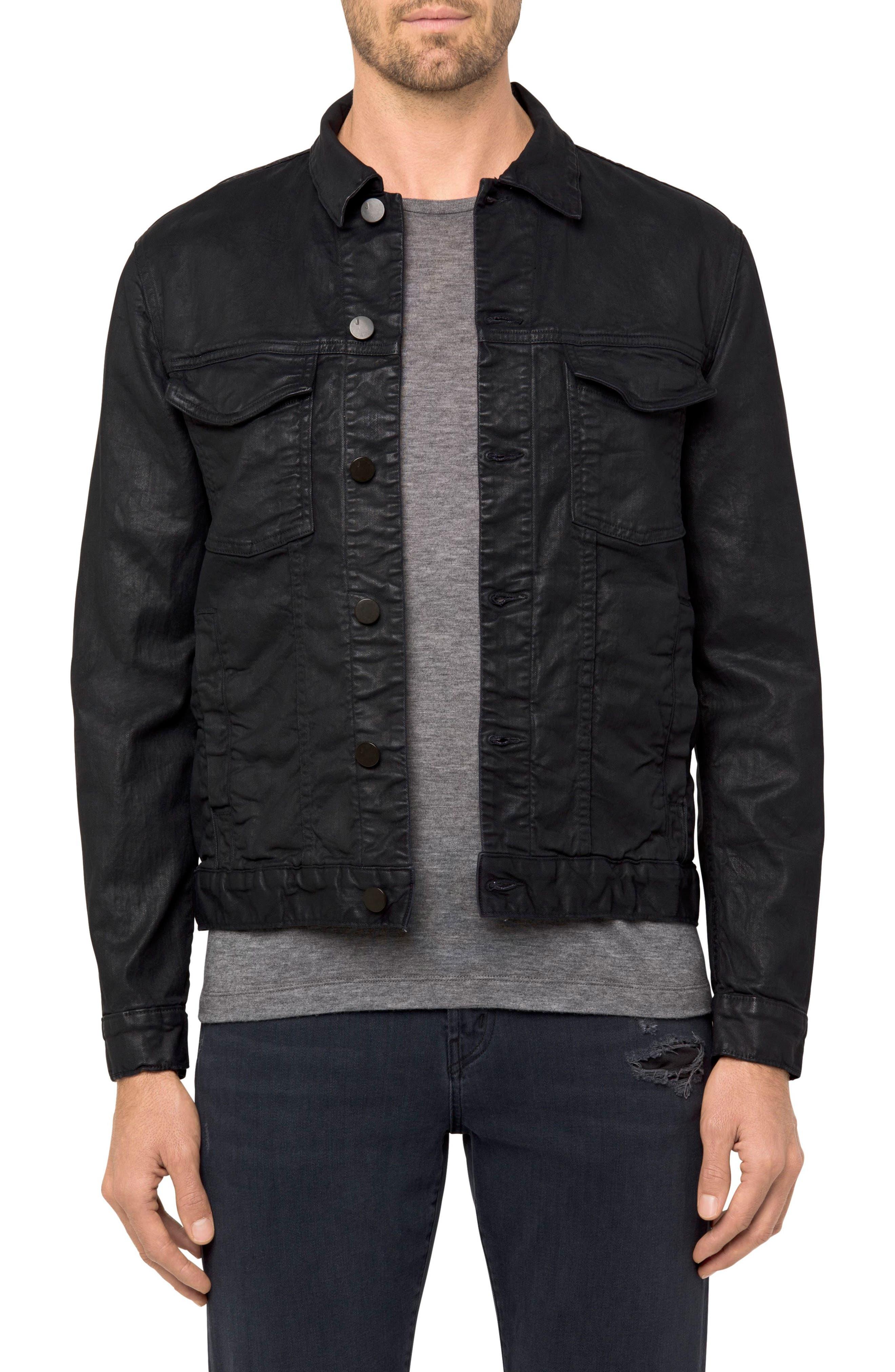 Gorn Denim Jacket,                         Main,                         color, Abalone